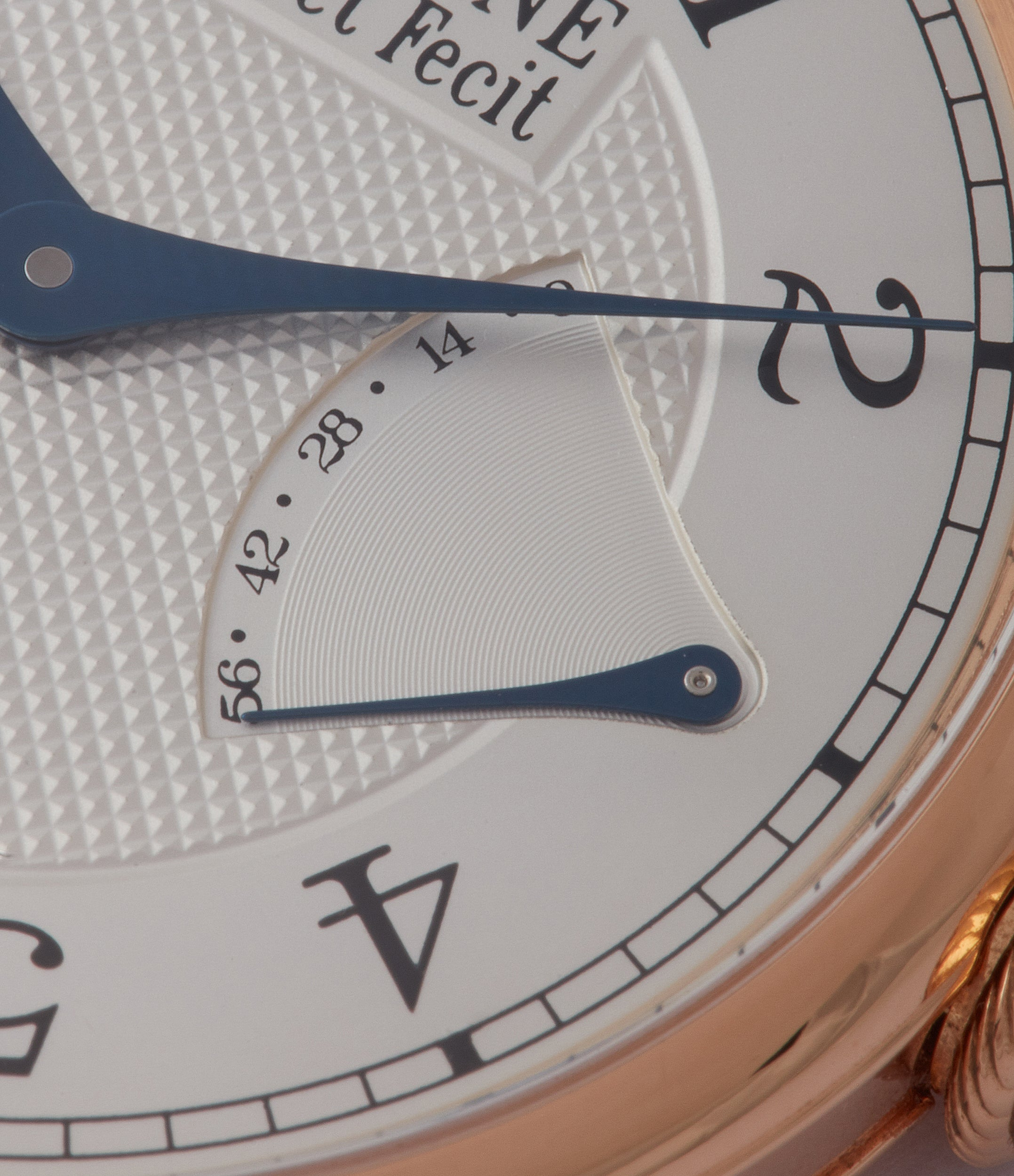 power reserve F. P. Journe Chronometre Souverain CS.RG.38 rose gold silver dial watch for sale online at A Collected Man London UK specialist of rare watches