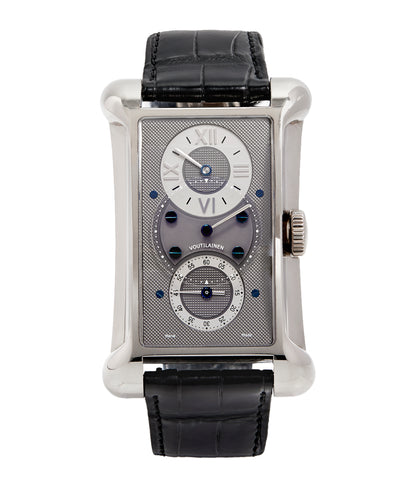 Voutilainen C27 Chronometre white gold Limited Edition white gold watch by Kari Voutilainen for sale online at approved re-seller A Collected Man London UK specialist of rare watches
