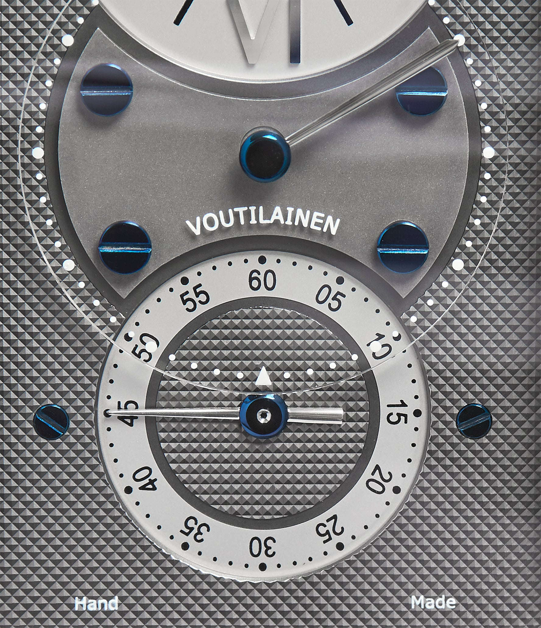 buy Voutilainen 27 Chronometre white gold Limited Edition white gold watch by Kari Voutilainen for sale online at approved re-seller A Collected Man London UK specialist of rare watches