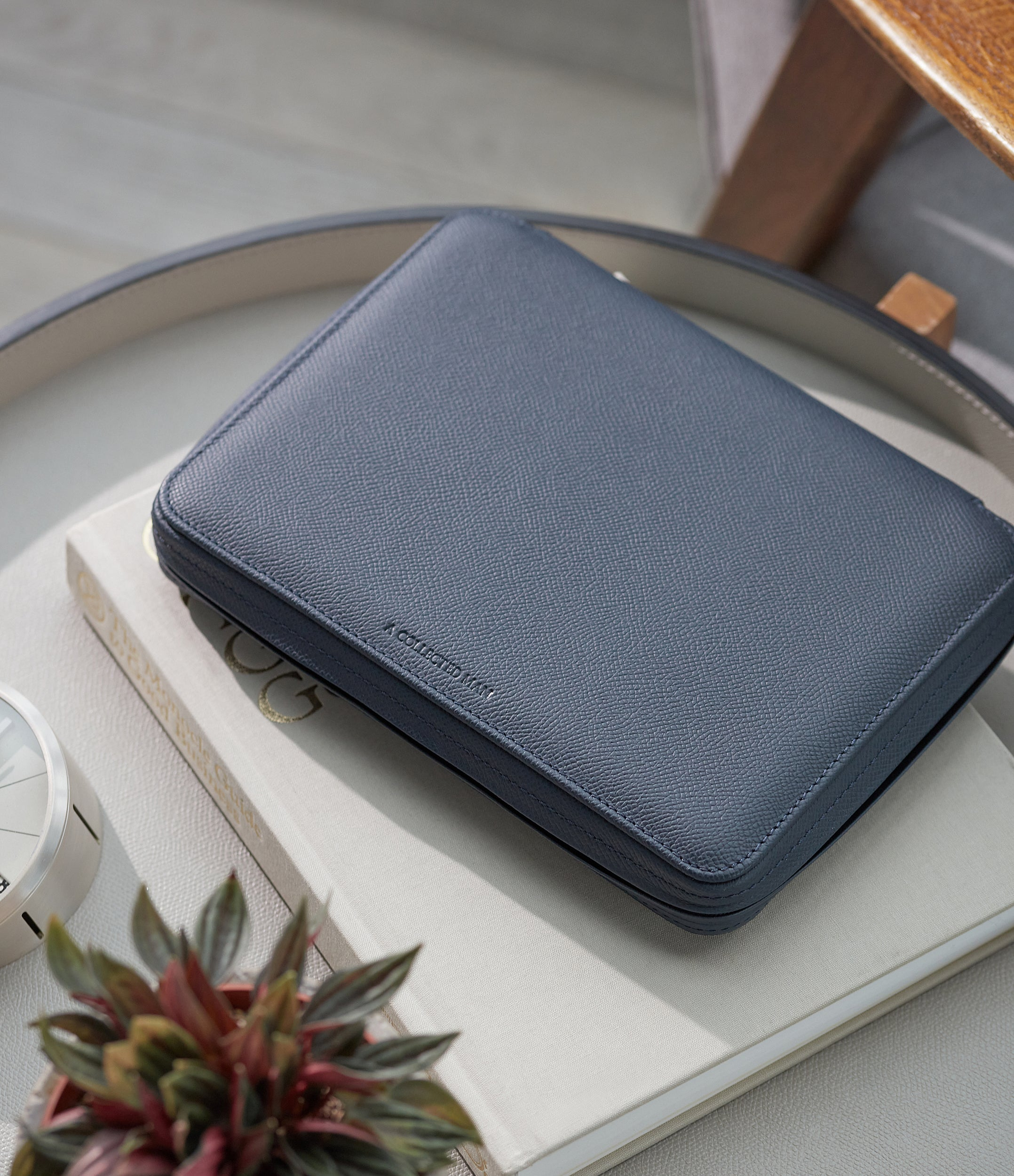 selling navy blue watch travel zip pouch accessories 8 watches order online A Collected Man London
