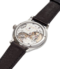 platinum Laurent Ferrier Galet Micro-rotor 40 mm time-only dress watch from independent watchmaker for sale online at A Collected Man London UK specialist of rare watches