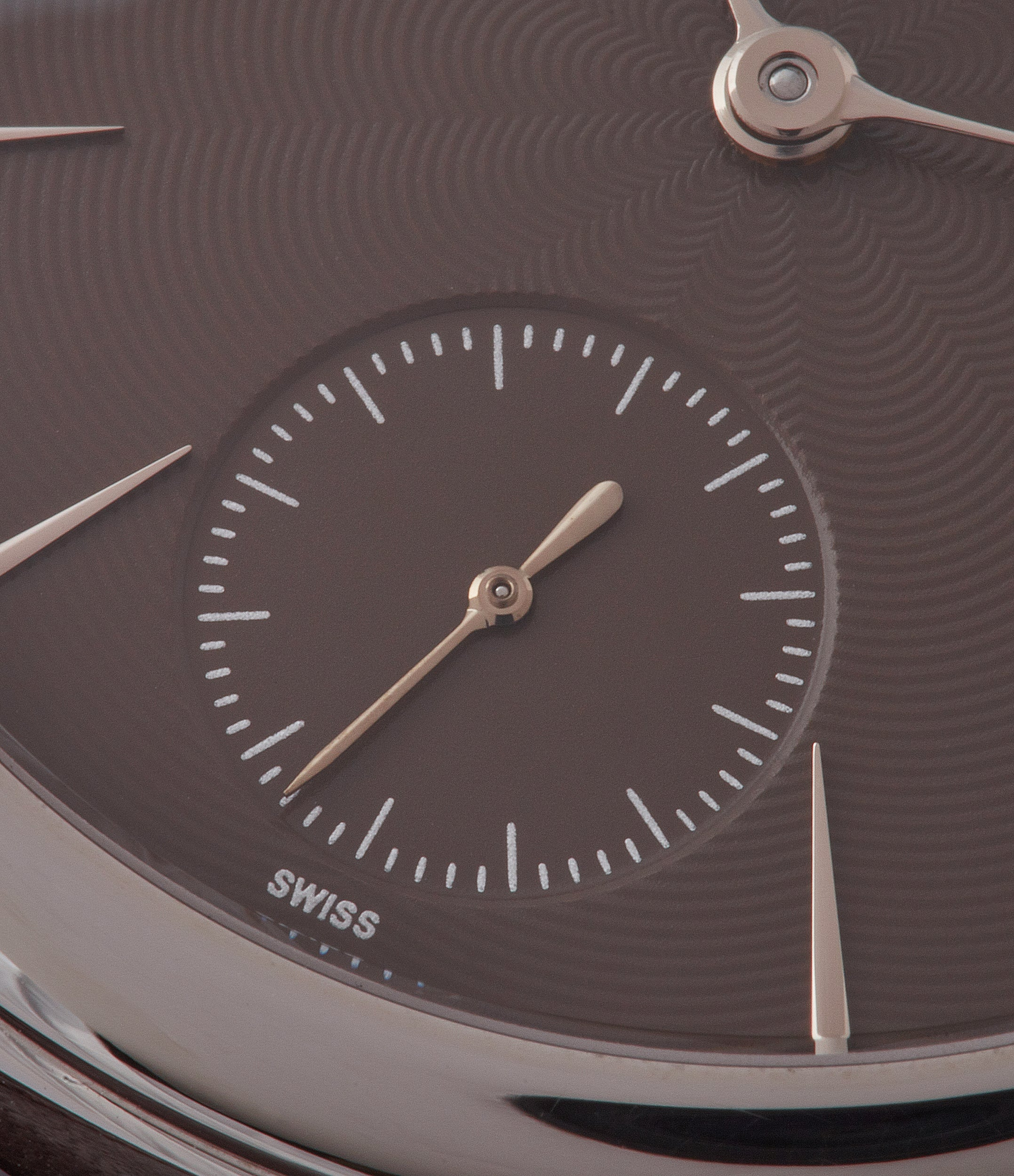 "brown dial Laurent Ferrier Prototype Galet Micro-rotor LF 229.01 ""Only Watch 2011"" steel watch for sale online at A Collected Man London UK approved seller of independent watchmakers"
