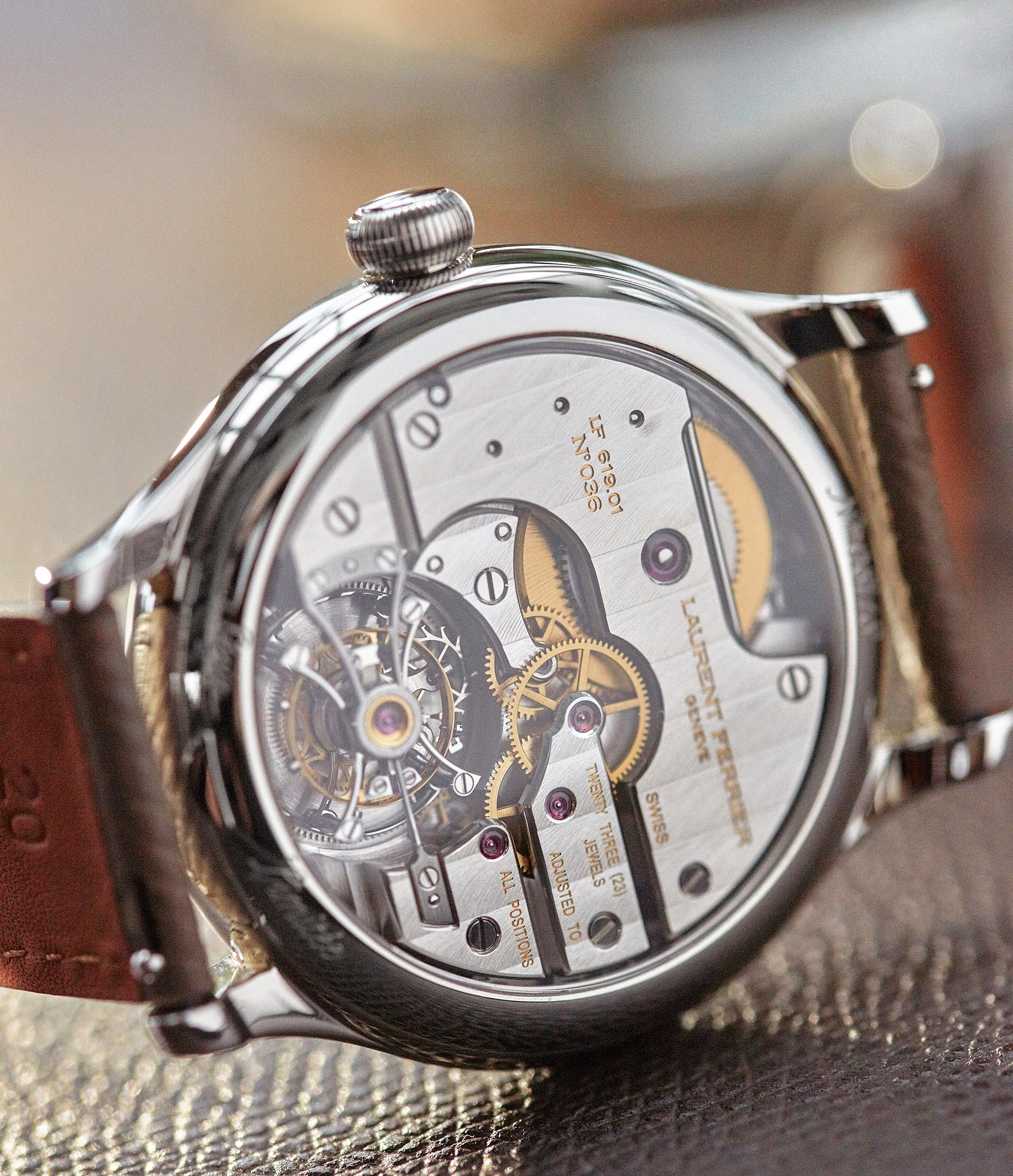 Galet Classic Tourbillon | unique enamel dial | steel