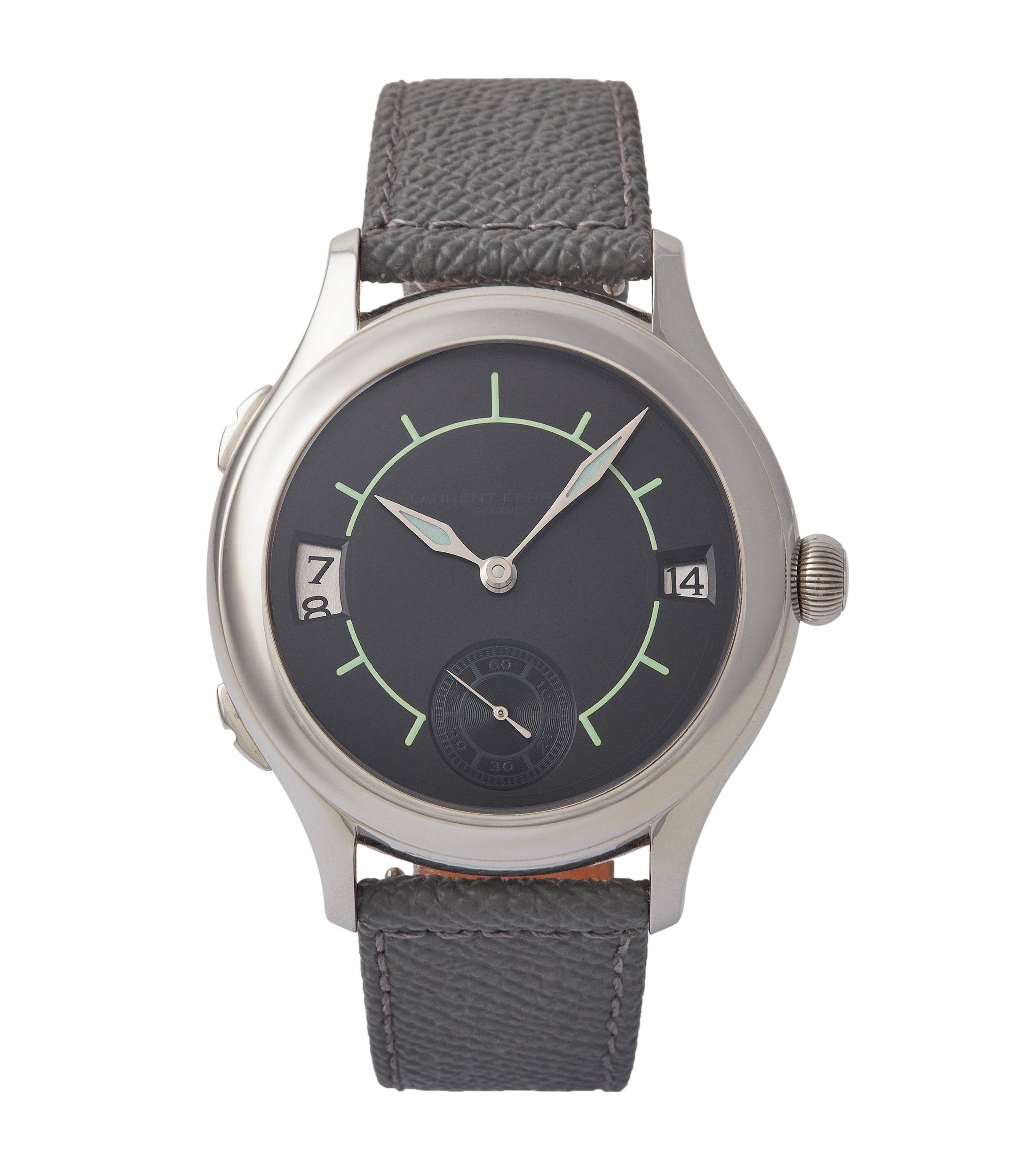 Galet Traveller Boréal with Luminous Sector Dial | LF 230.01 | steel