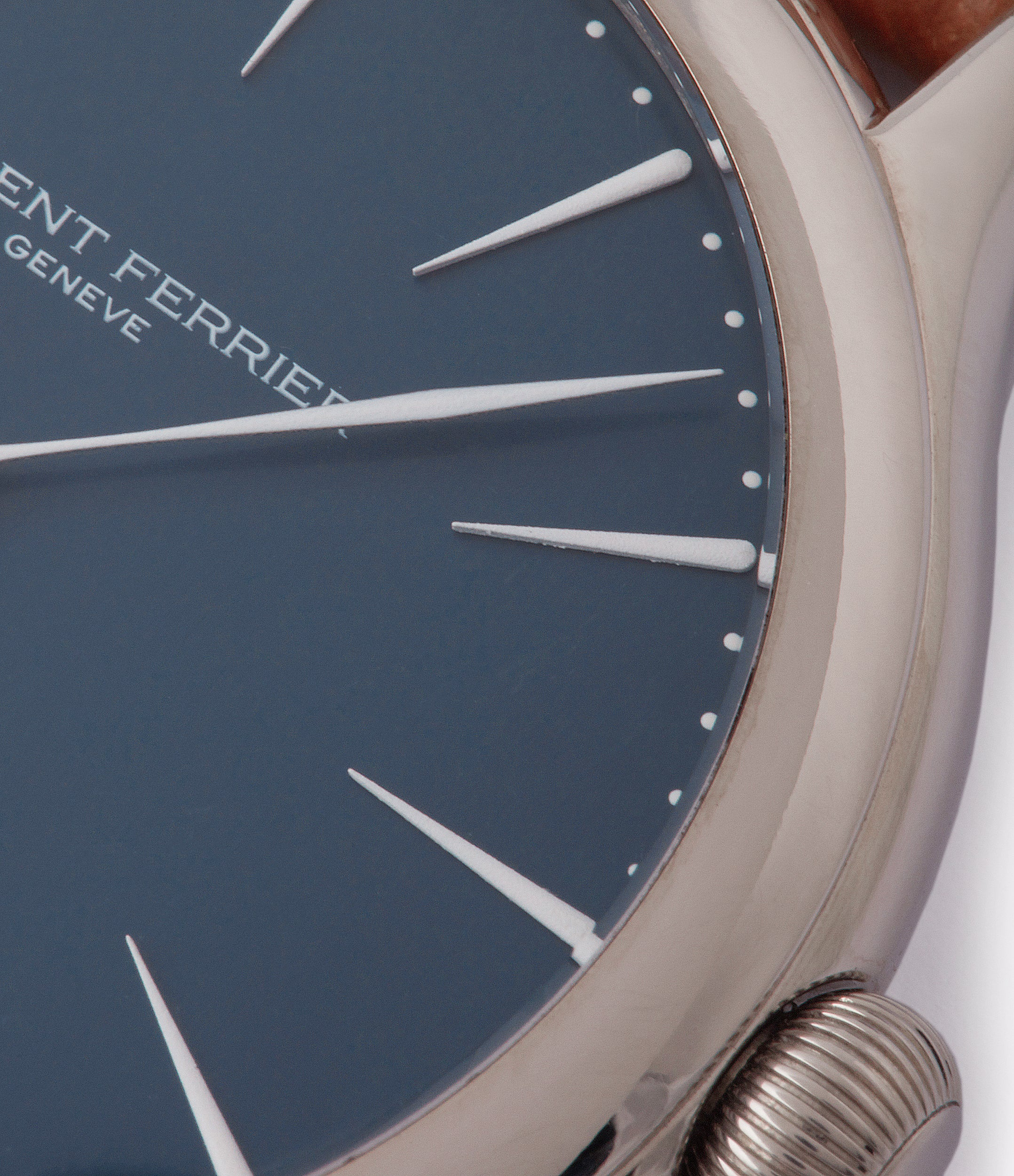blue dial white gold Laurent Ferrier Galet Micro-Rotor LF229.01 blue dial white gold watch for sale online at A Collected Man London UK approved seller of independent watchmaker Laurent Ferrier