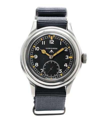 buy Longines WWW MoD British military vintage watch F6870 for sale online at A Collected Man London vintage watches specialist