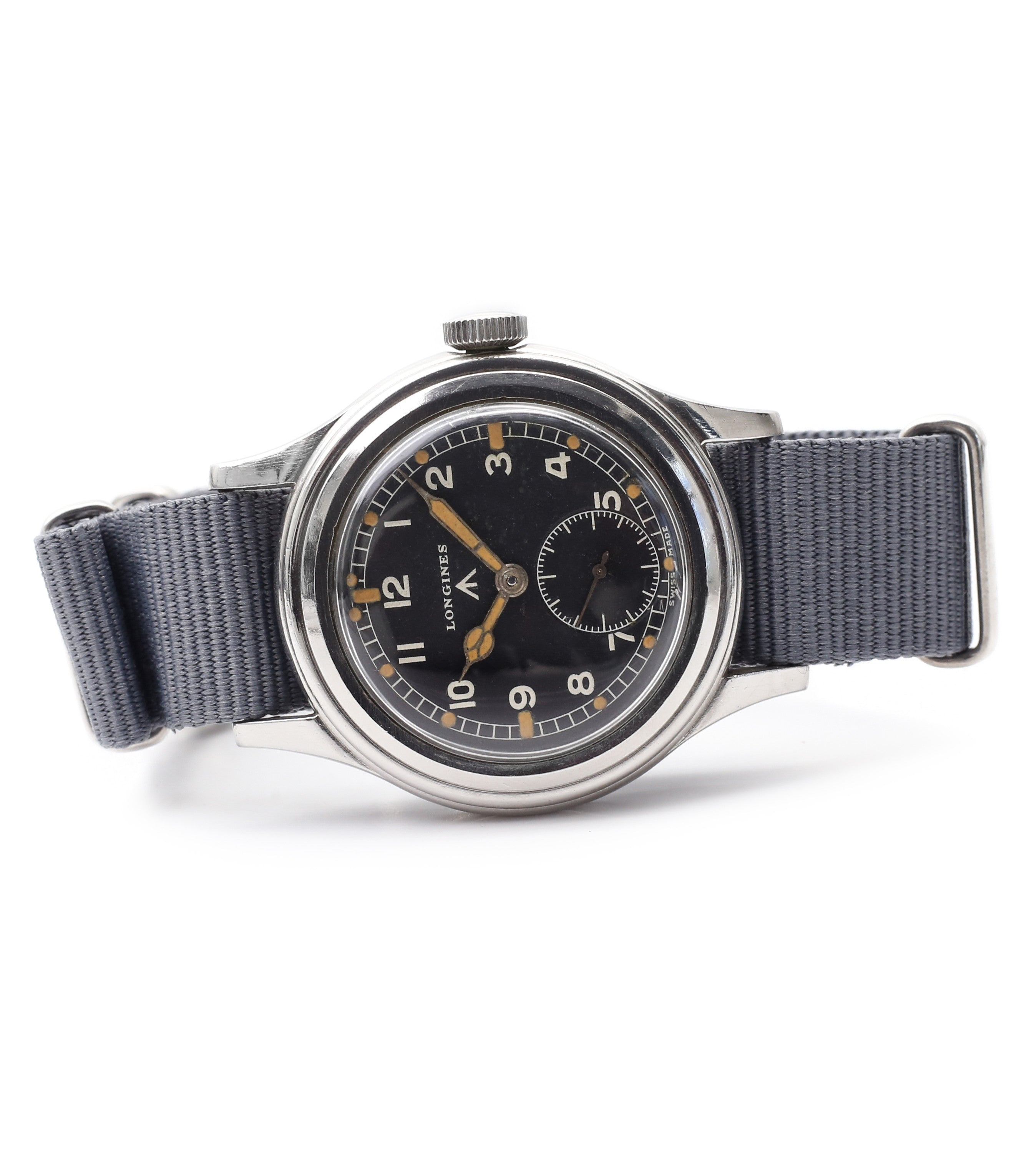 buy military vintage Longines WWW MoD British military F6870 for sale online at A Collected Man London vintage watches specialist