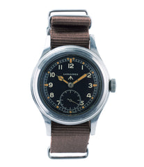 buy Longines W.W.W. Dirty Dozen British military MoD steel chronometer-graded watch for sale online at A Collected Man London vintage military watch specialist