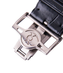 white gold MB&F clasp HM3 Horological Machine 3 Sidewinder Max Busser Wiederrecht white gold watch by independent watchmaker for sale online at A Collected Man London UK specialist of rare watches