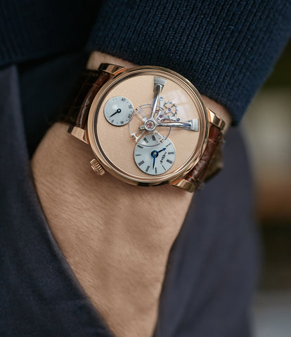 Legacy Machine LM101 | Frost dial | rose gold