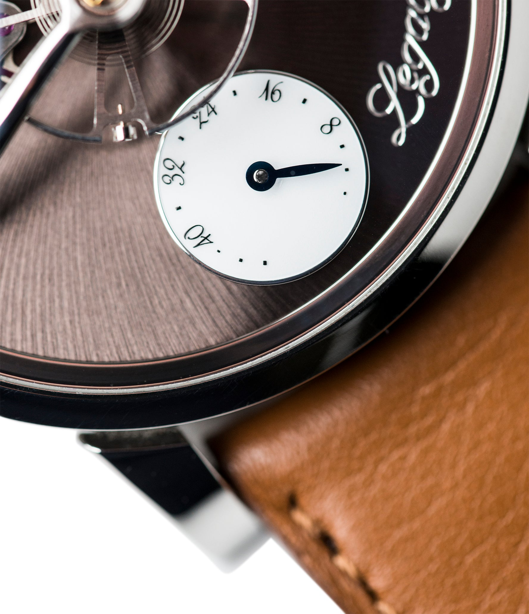 Hodinkee watch MB&F LM101 brown dial Limited Edition steel for sale online at A Collected Man London recommended retailer of independent watchmakers