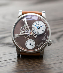 Legacy Machine LM101 L.E. for Hodinkee | Steel | No 5/10