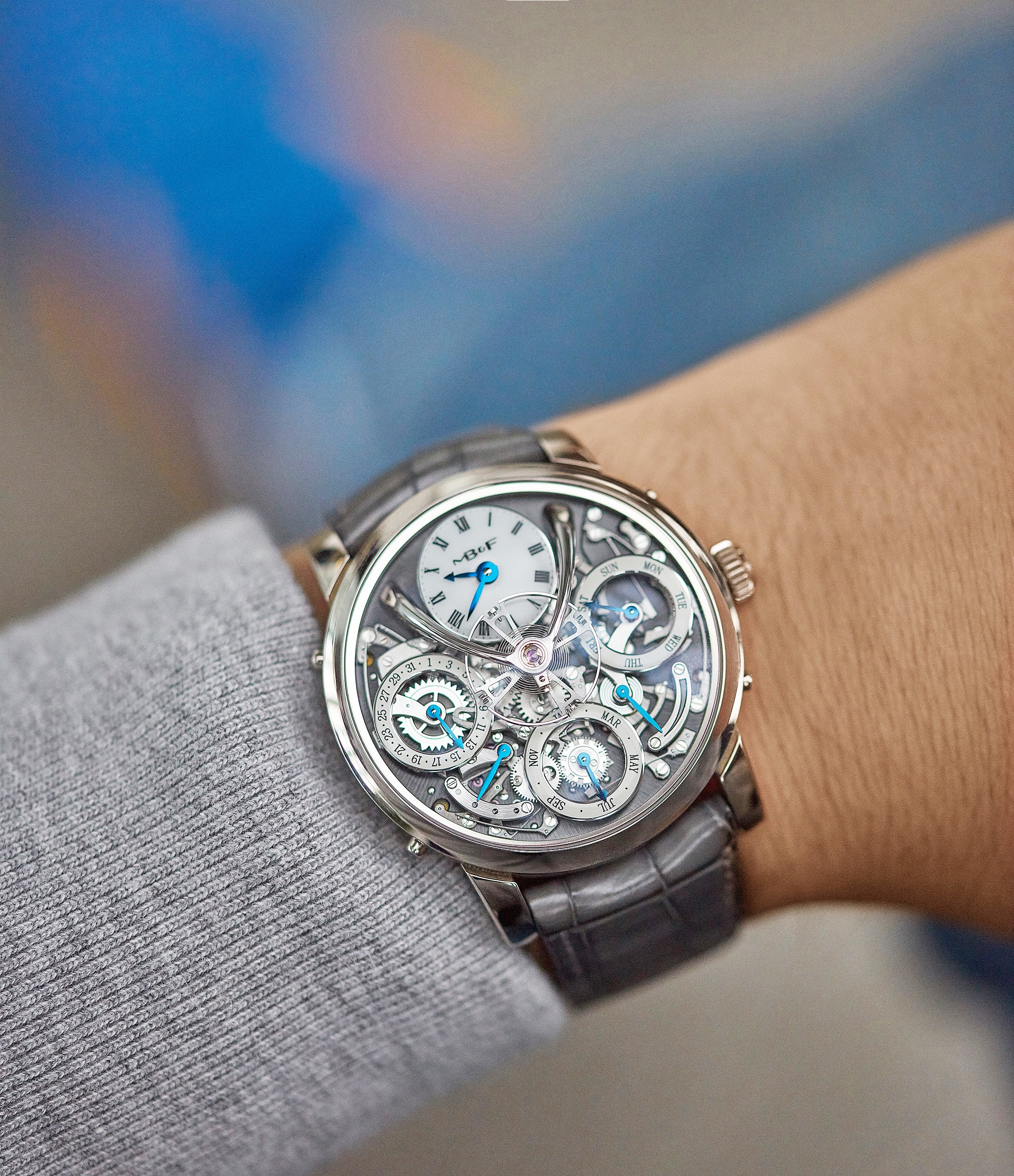 Legacy Machine 3 Perpetual Calendar | Grey dial | white gold
