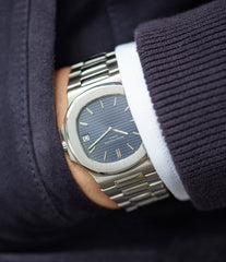 original Patek Philippe Nautilus 3700/001A steel sport watch full set for sale online at A Collected Man London UK specialist of rare vintage watches