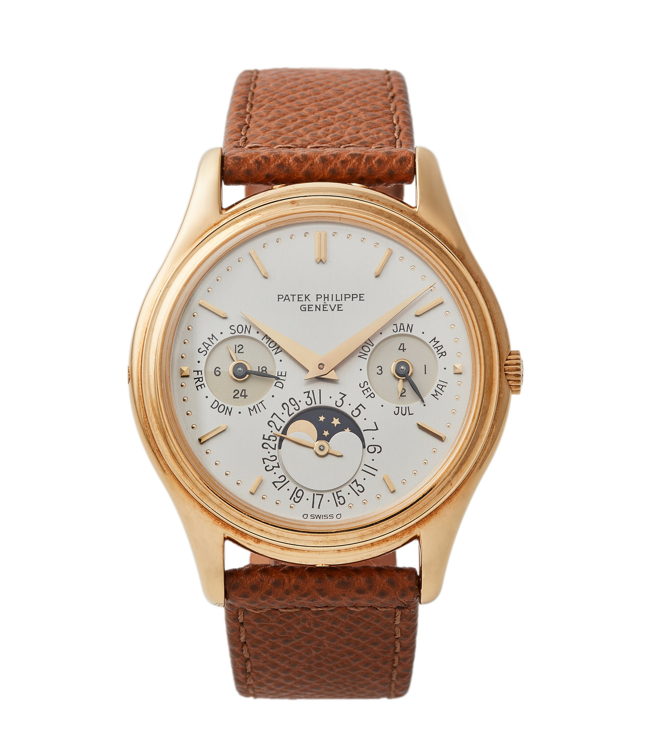 Perpetual Calendar 3940 | First Series | Yellow Gold