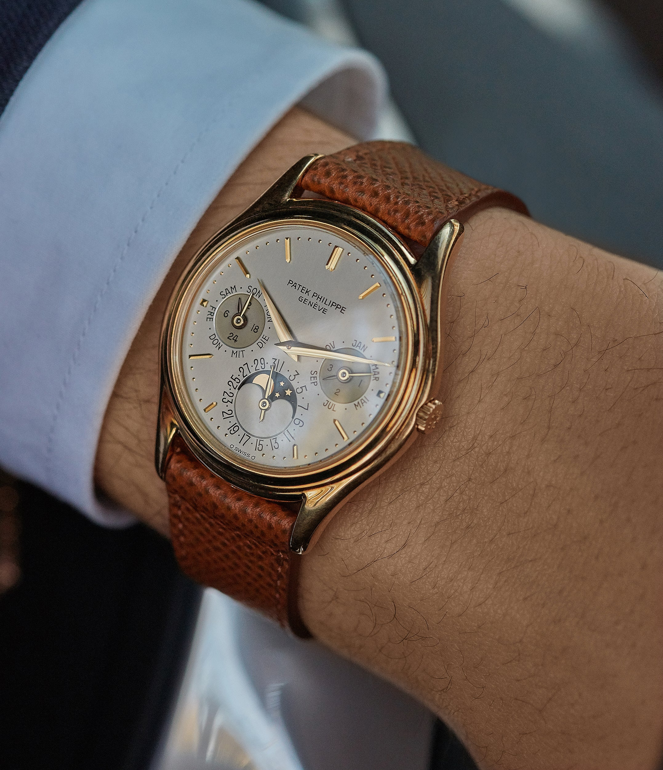 Perpetual Calendar 3940 | Yellow Gold