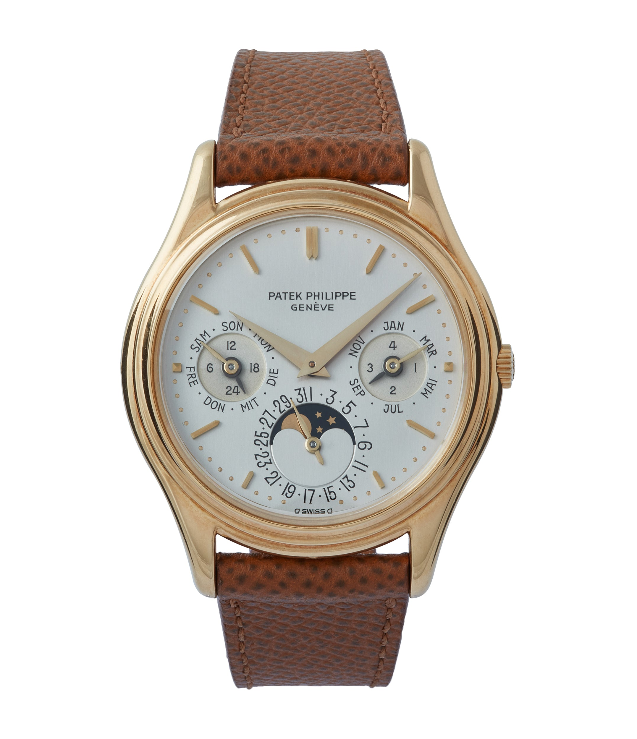 Perpetual Calendar 3940J | First Series | Yellow Gold
