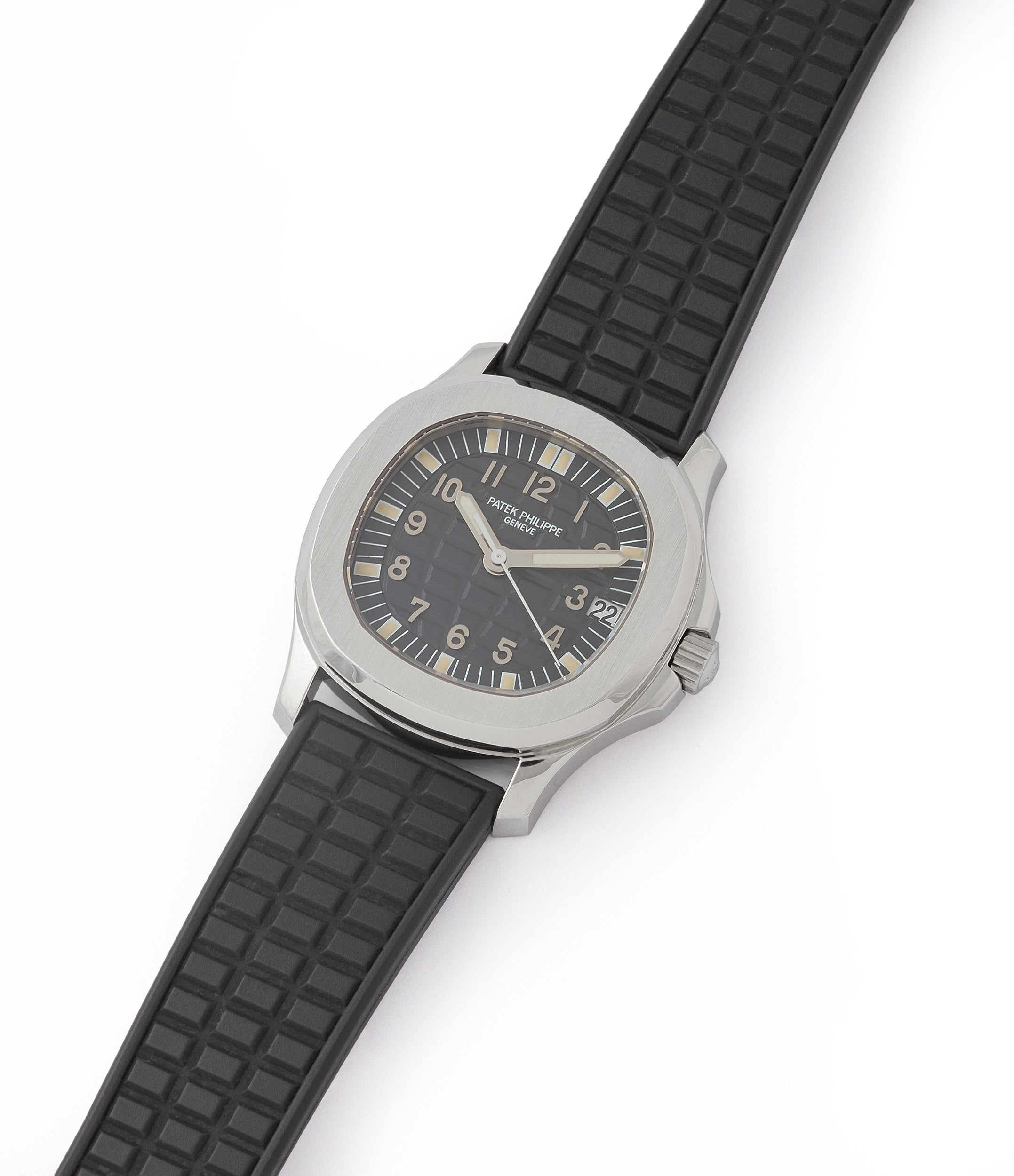 selling Patek Philippe Aquanaut 5066A-001 steel sport watch rubber strap for sale online at A Colleted Man London UK specialist of rare watches