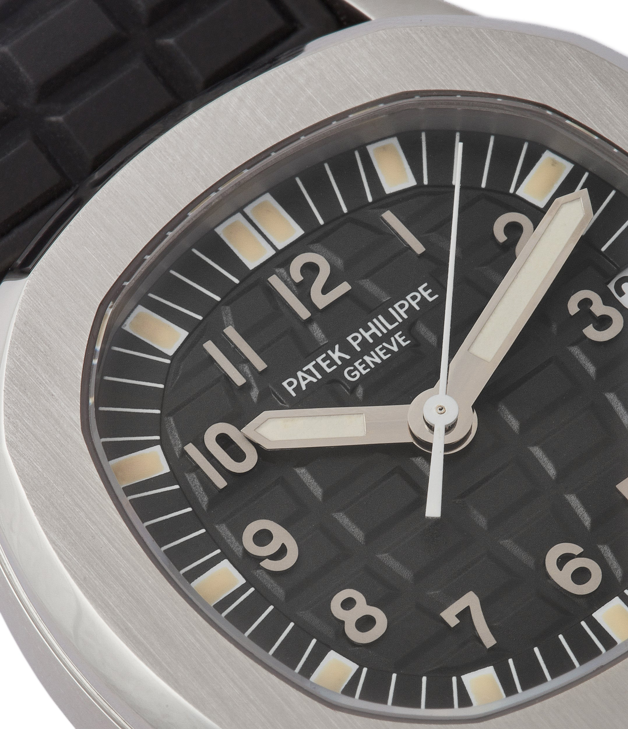 buy rare Patek Philippe Aquanaut 5066A-001 steel sport watch rubber strap for sale online at A Colleted Man London UK specialist of rare watches