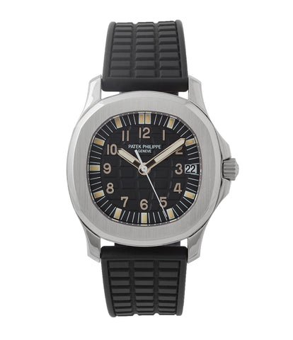 buy Patek Philippe Aquanaut 5066A-001 steel sport watch rubber strap for sale online at A Colleted Man London UK specialist of rare watches