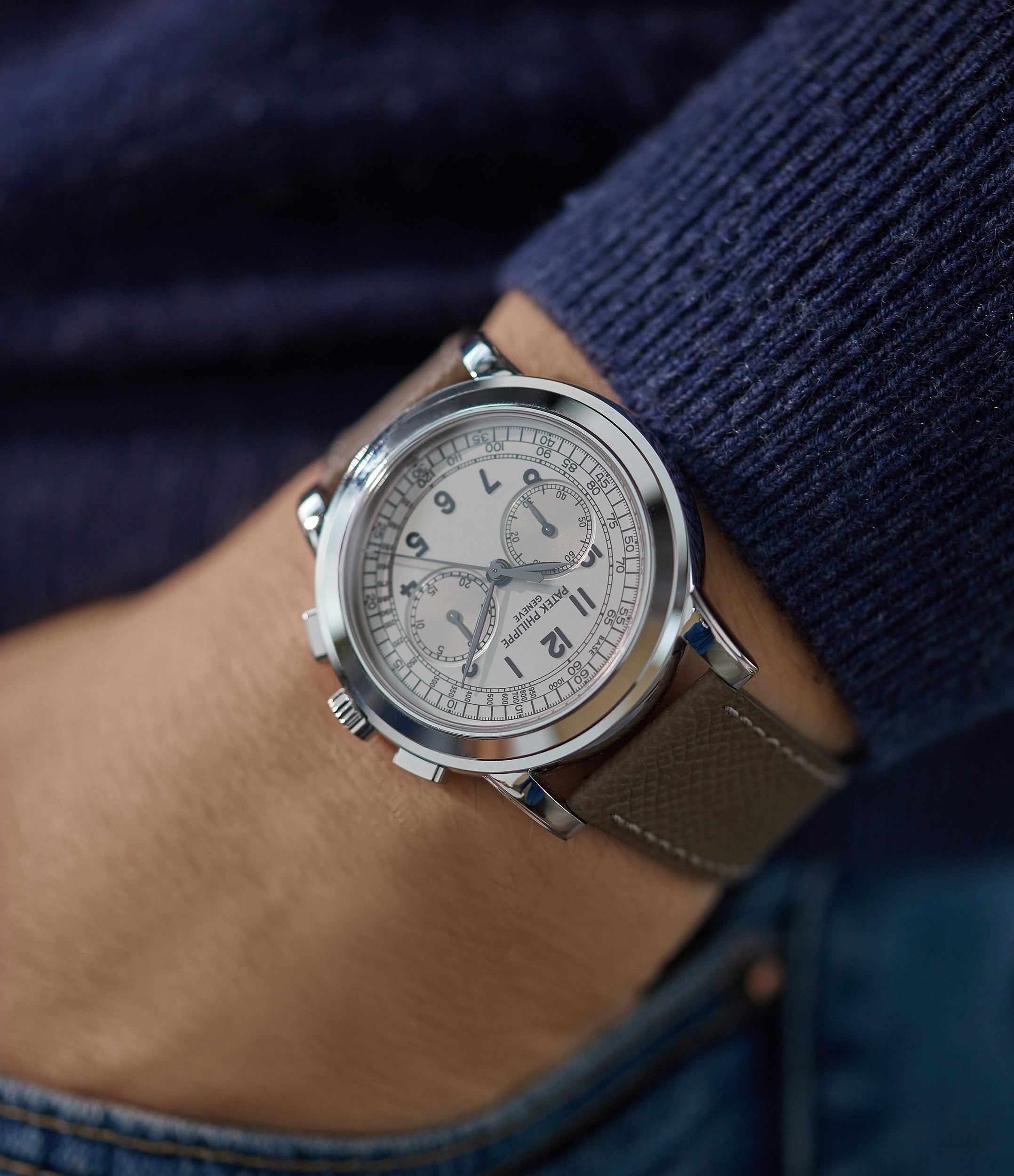 5070G Chronograph | white gold