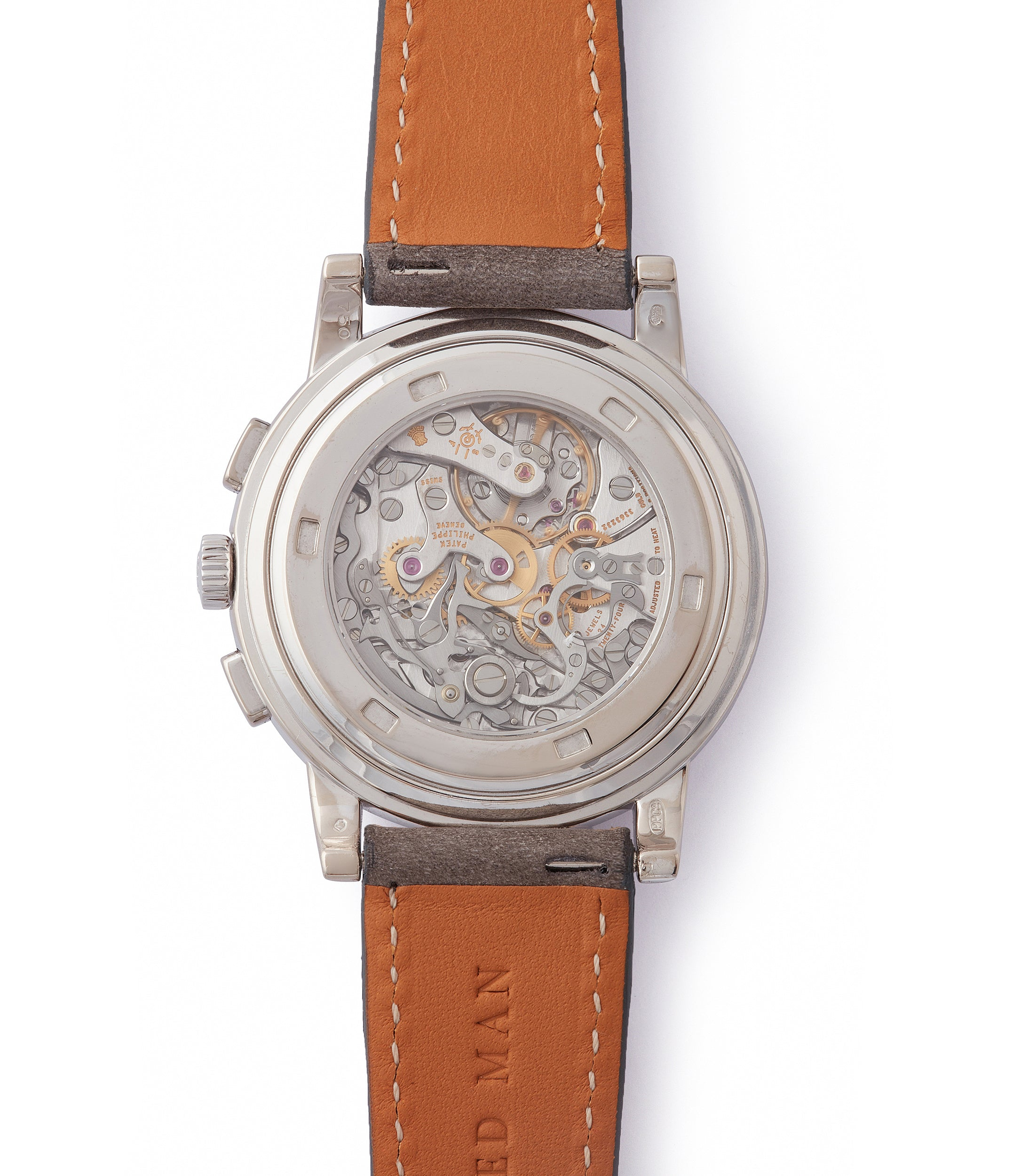 CH27-70 manual-winding Patek Philippe 5070 Chronograph white gold dress watch for sale online at A Collected Man London UK specialist of rare watches