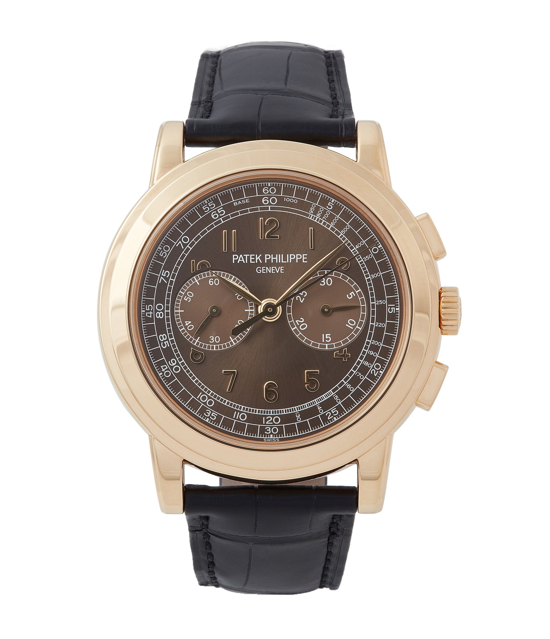 buy Patek Philippe 5070J-012 Saatchi Edition Chronograph yellow gold watch for sale online at A Collected Man London UK specialist of rare watches