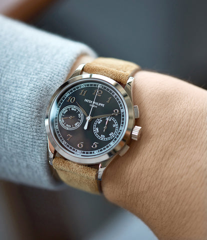 Chronograph | 5170G-010 | grey gold | Black dial