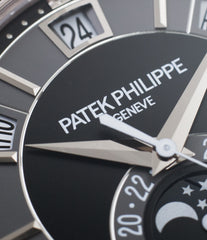for sale Patek Philippe 5205G-010 white gold watch online at A Collected Man London specialist retailer of rare watches UK