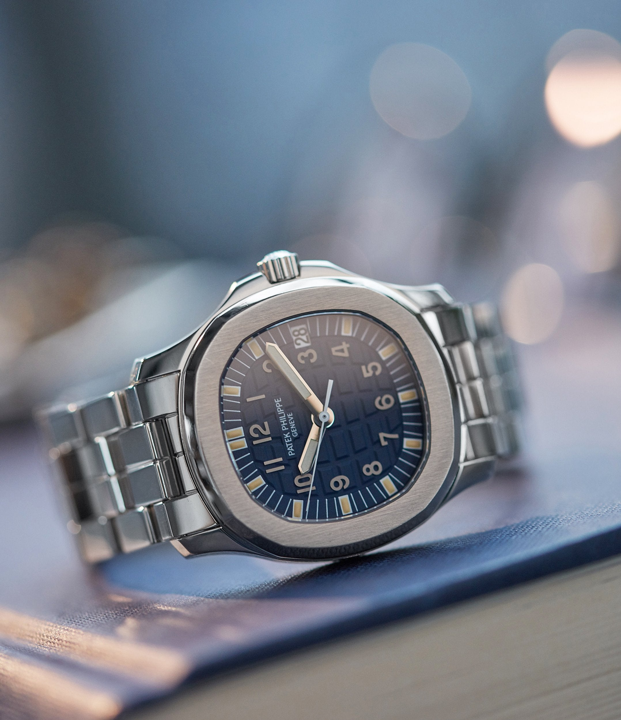 Patek Philippe Aquanaut 5066A-010 Japanese limited edition steel blue dial sports watch for sale online A Collected Man London