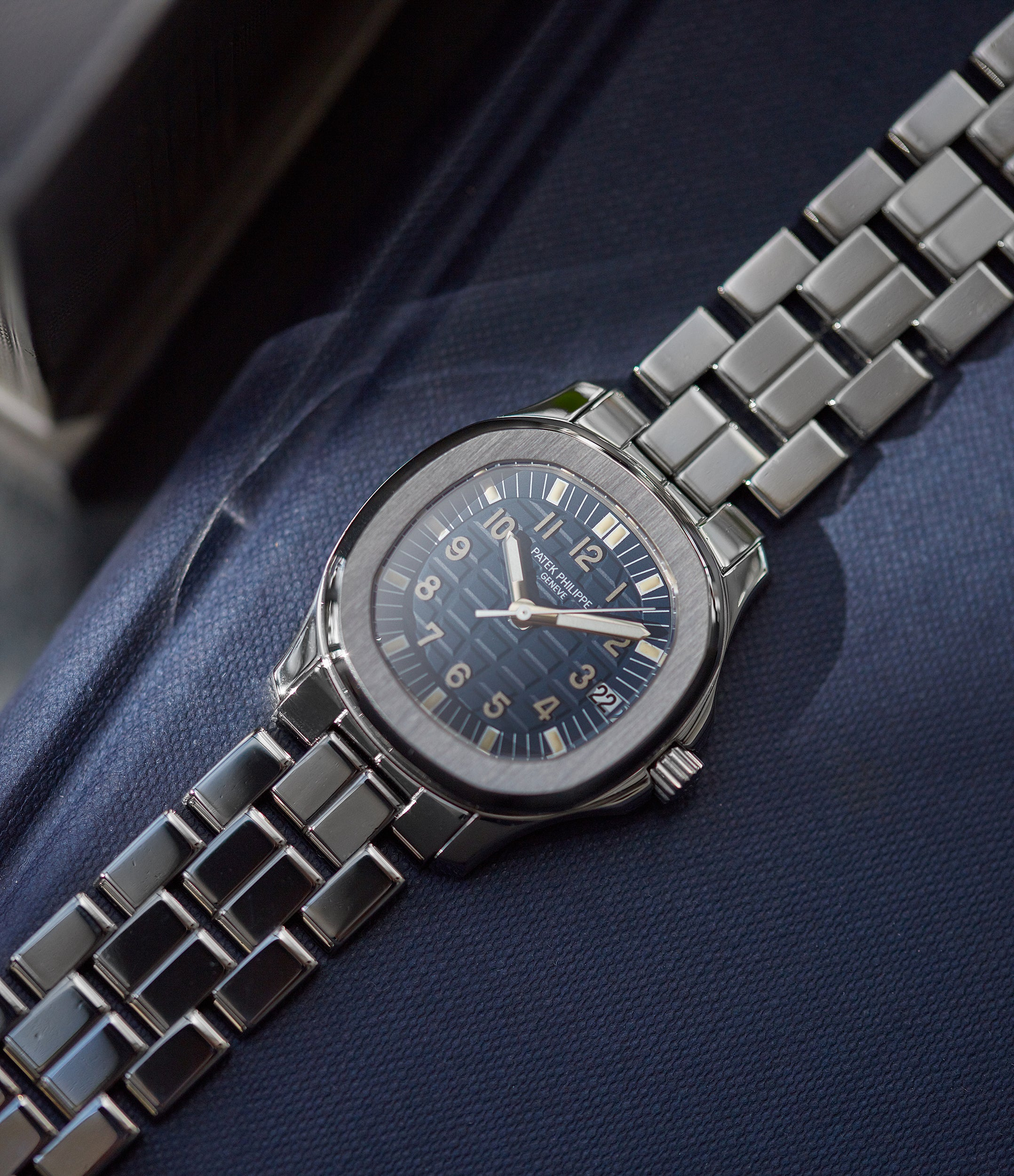 Aquanaut 5066A-010 | blue dial  | steel