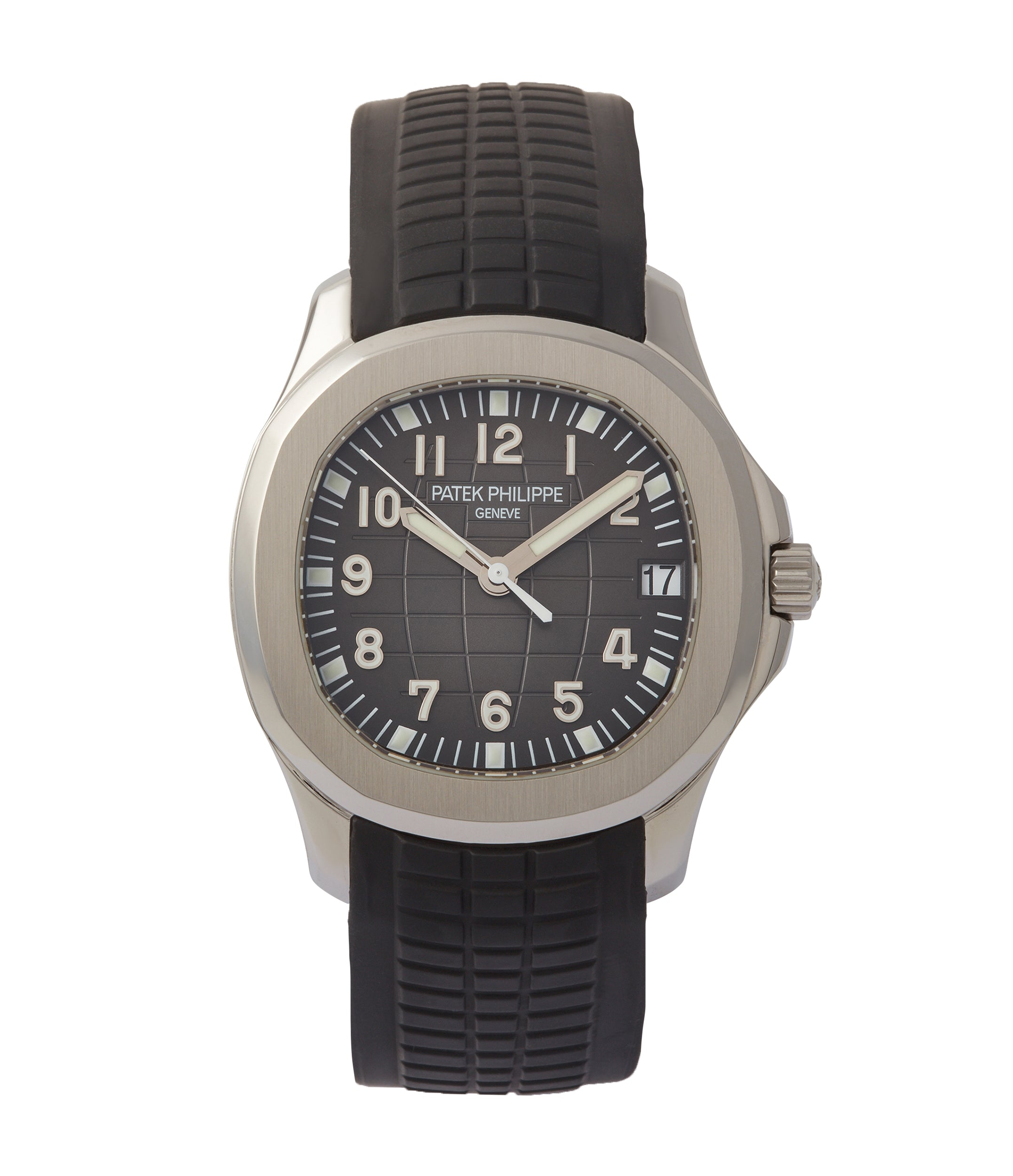 buy Patek Philippe Aquanaut 5165A-001 pre-owned steel 38mm sports dress watch for sale online A Collected Man London UK specialist of rare watches