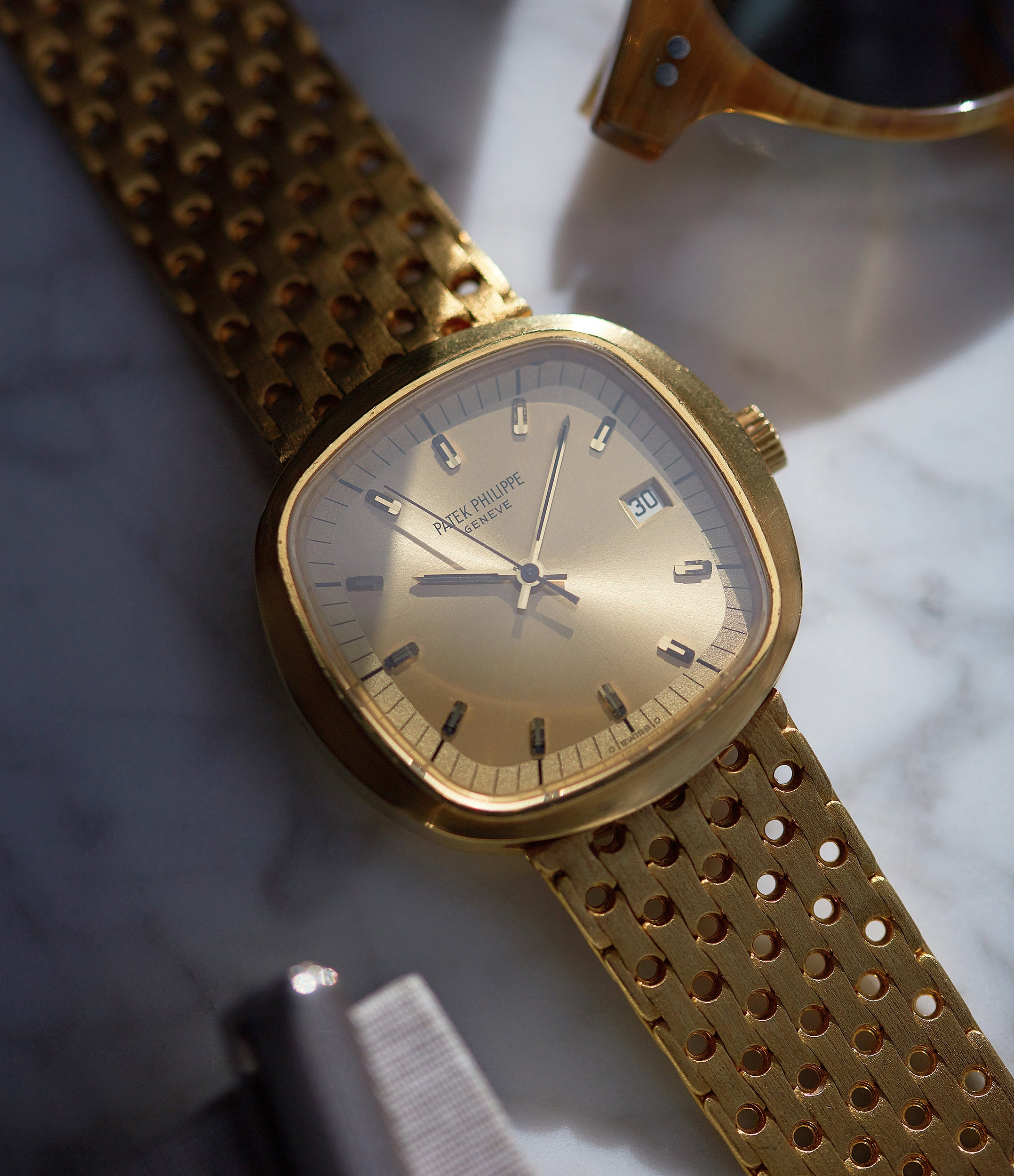 vintage Patek Philippe 3597 Beta 21 yellow gold 1970s dress watch for sale online A Collected Man London UK specialist of rare watches