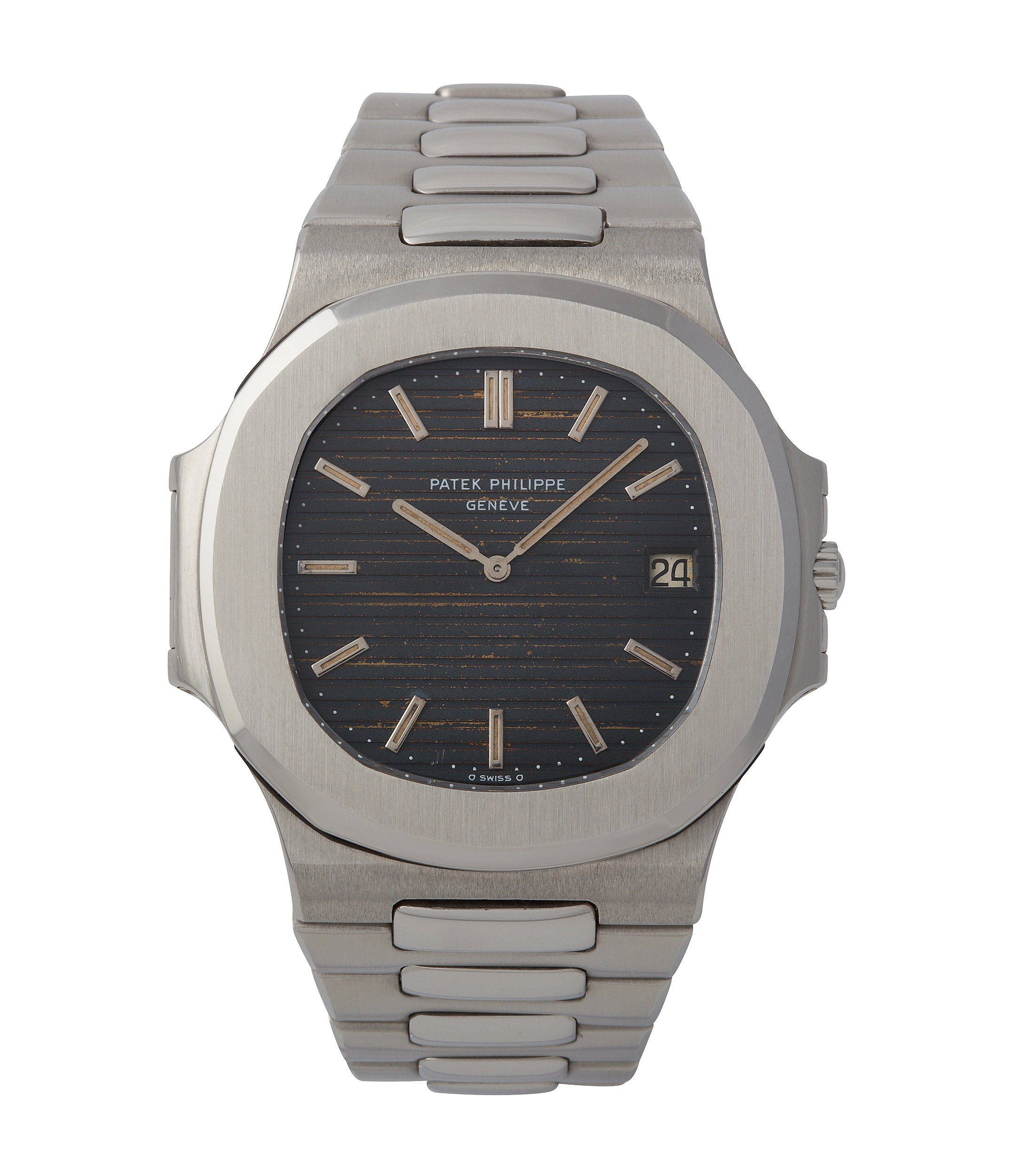 buy Patek Philippe Nautilus 3700/001A vintage steel tropical dial sports watch for sale online A Collected Man London UK specialist rare watches