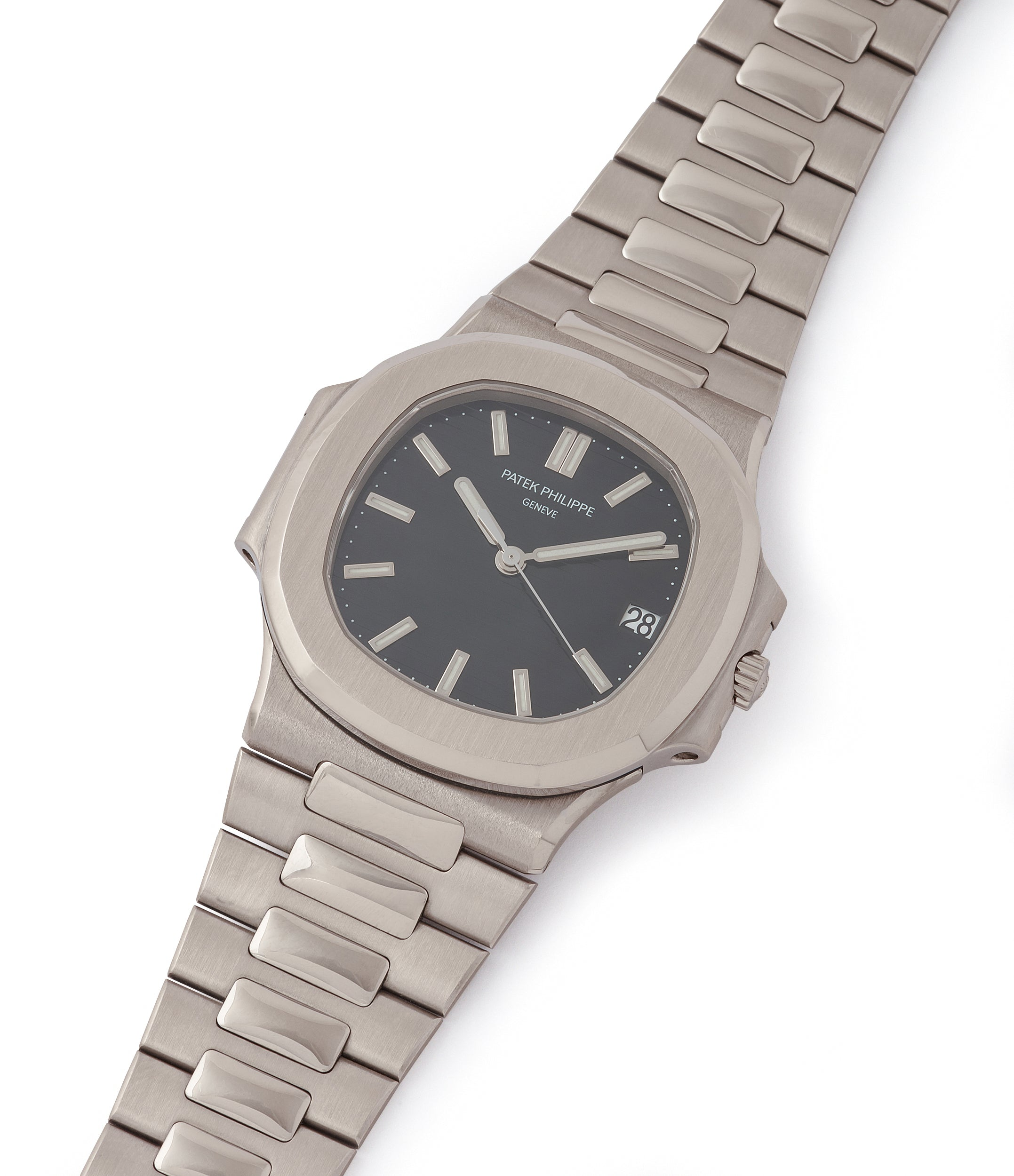 for sale Patek Philippe Nautilus 3711/1G-001 white gold pre-owned watch for sale online at A Collected Man London UK specialist of rare watches