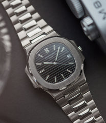 buy pre-owned Patek Philippe Nautilus 3711/1G-001 white gold pre-owned watch for sale online at A Collected Man London UK specialist of rare watches