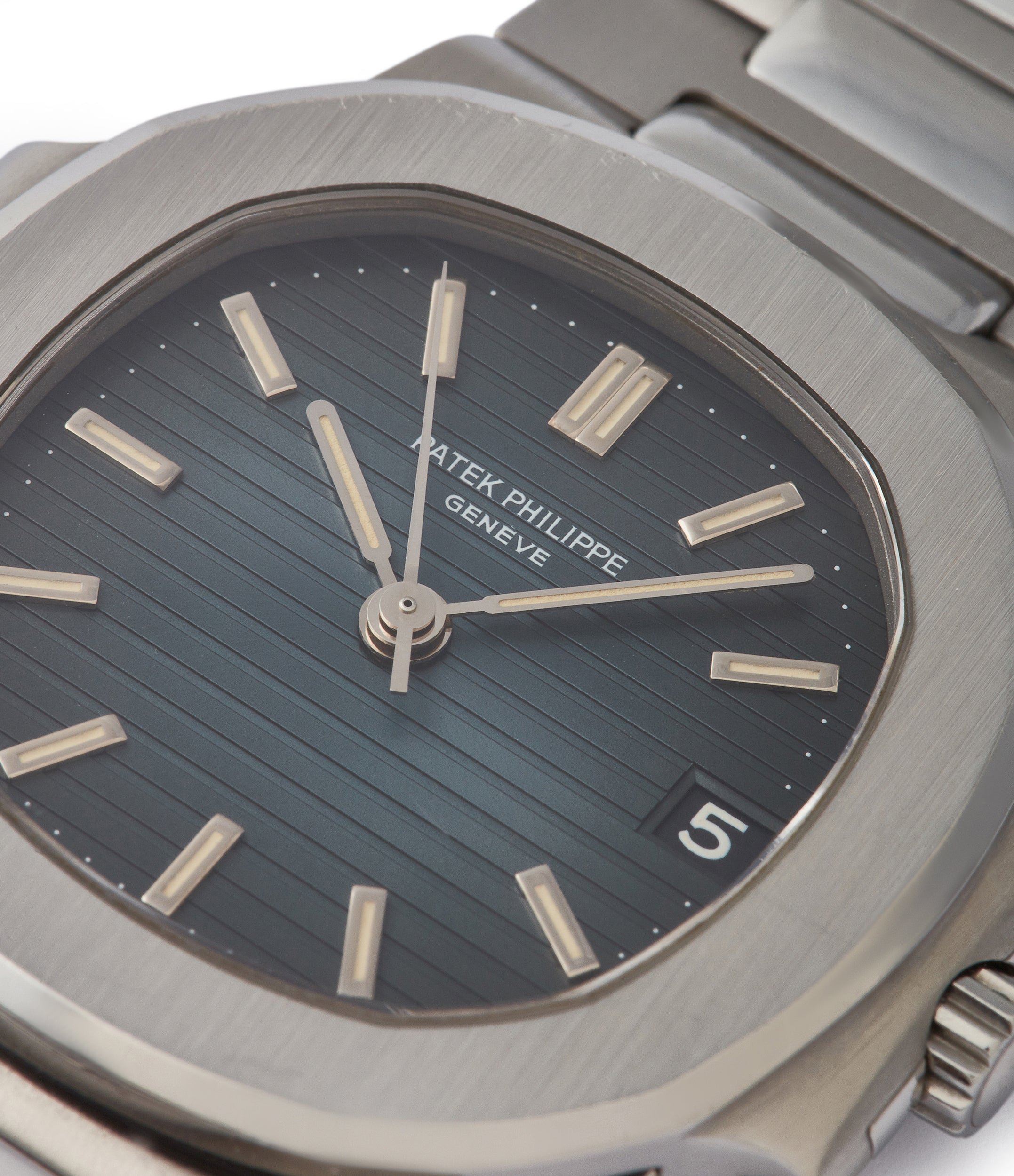 Sigma tritium dial Patek Philippe Nautilus 3800A sports watch shop online rare watch A Collected Man London