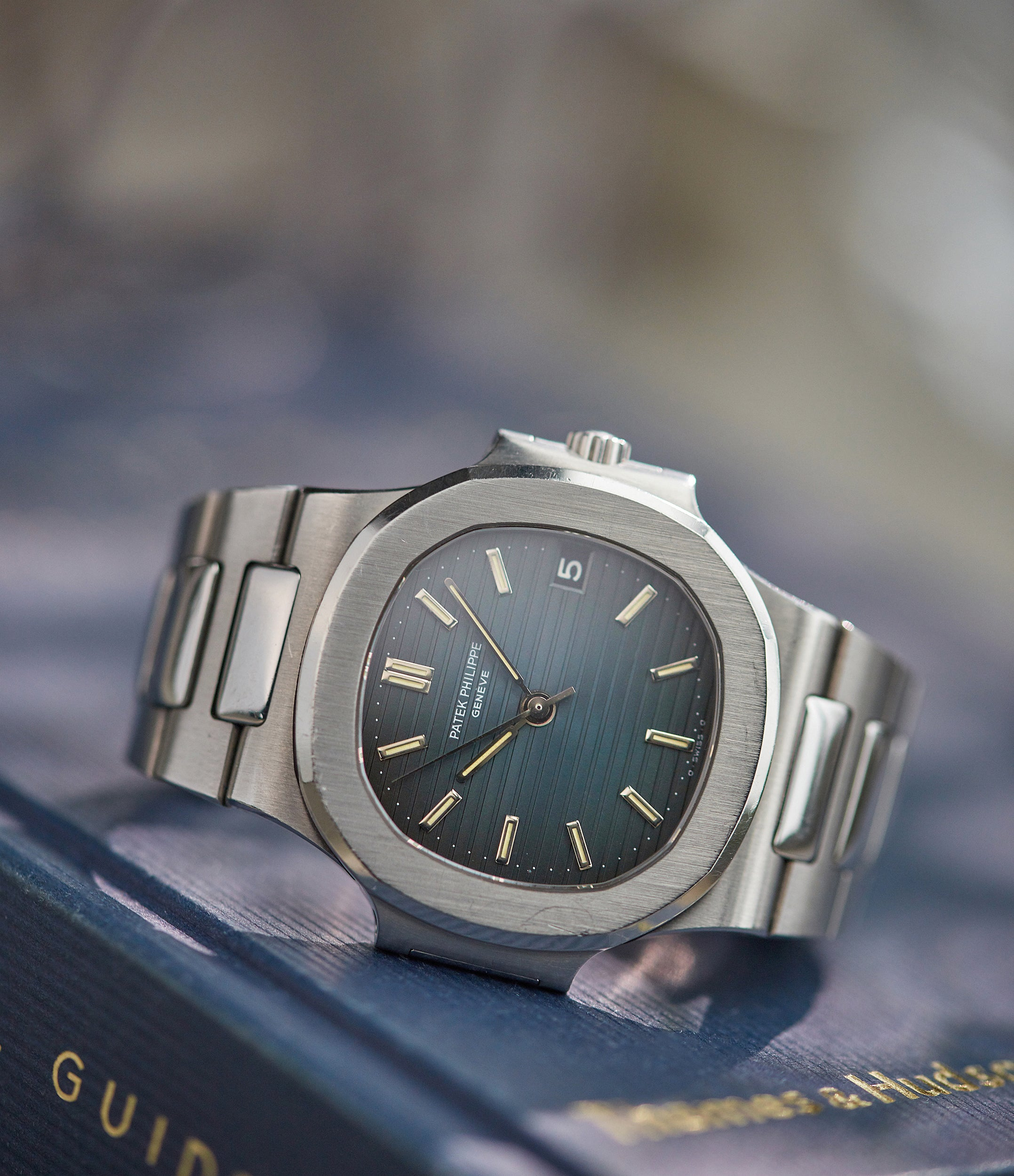 Patek Philippe Nautilus 3800/1A-001 steel vintage sports watch for sale online A Collected Man London  Edit alt text