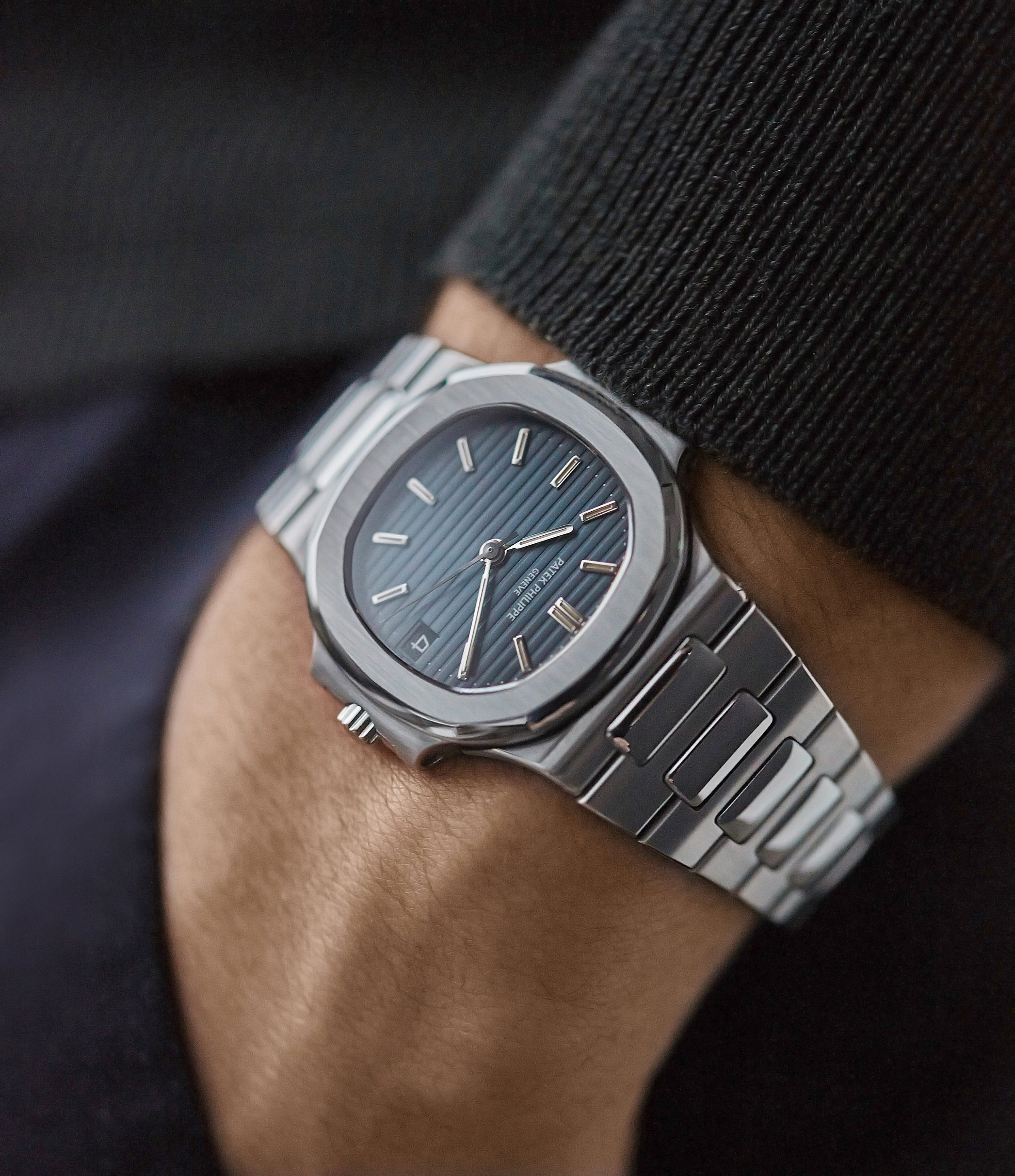 selling Patek Philippe Nautilus 3800 Sigma dial steel luxury sports watch for sale online A Collected Man London UK specialist rare watches