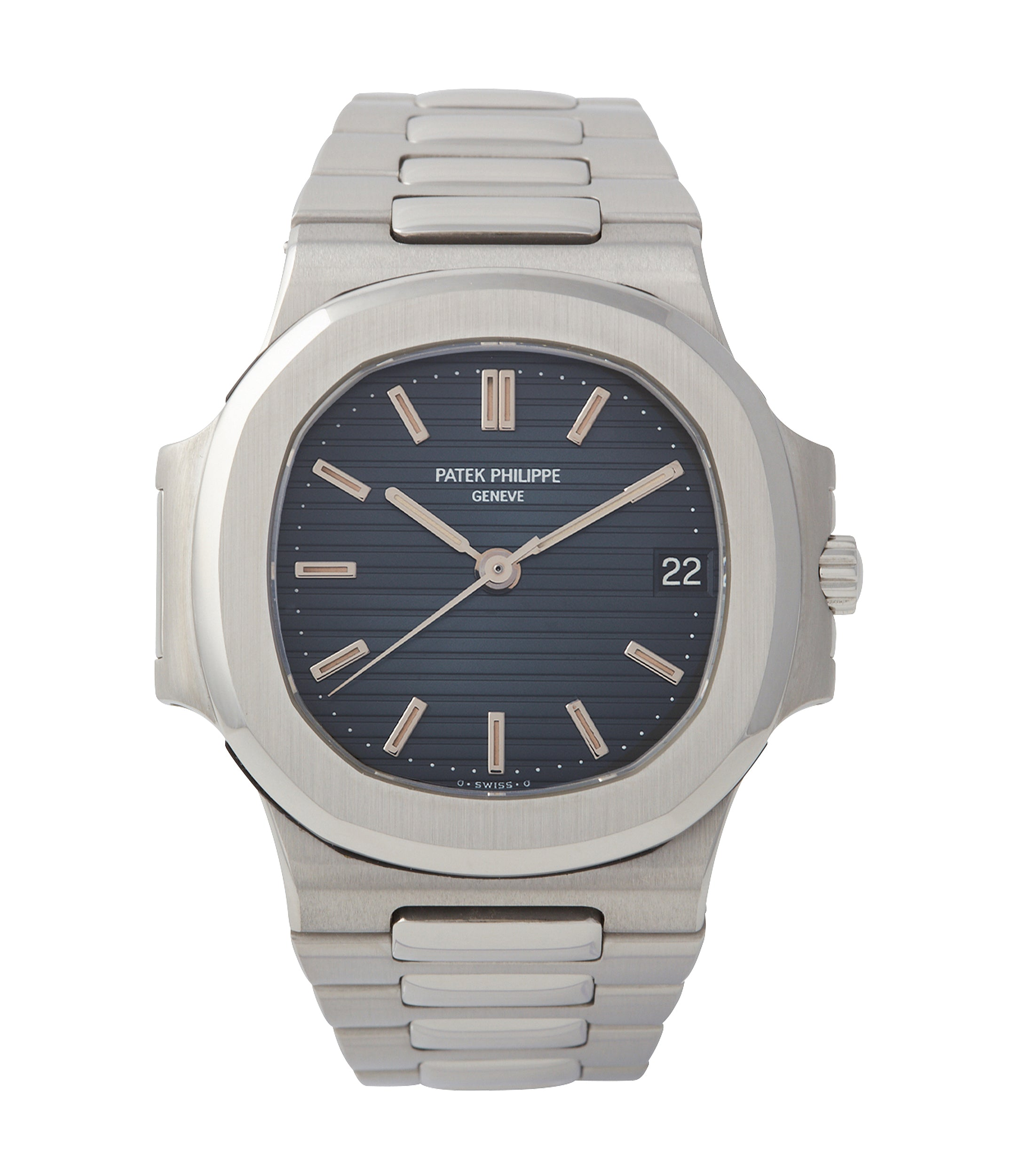 buy Patek Philippe Nautilus 3800 Sigma dial steel luxury sports watch for sale online A Collected Man London UK specialist rare watches