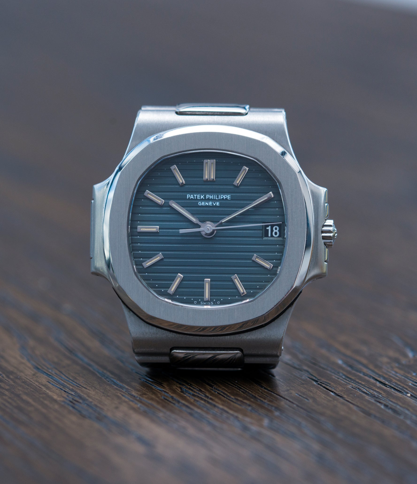 selling Patek Philippe Nautilus 3800/1 steel vintage luxury watch online at A Collected Man London UK specialised  seller of rare watches