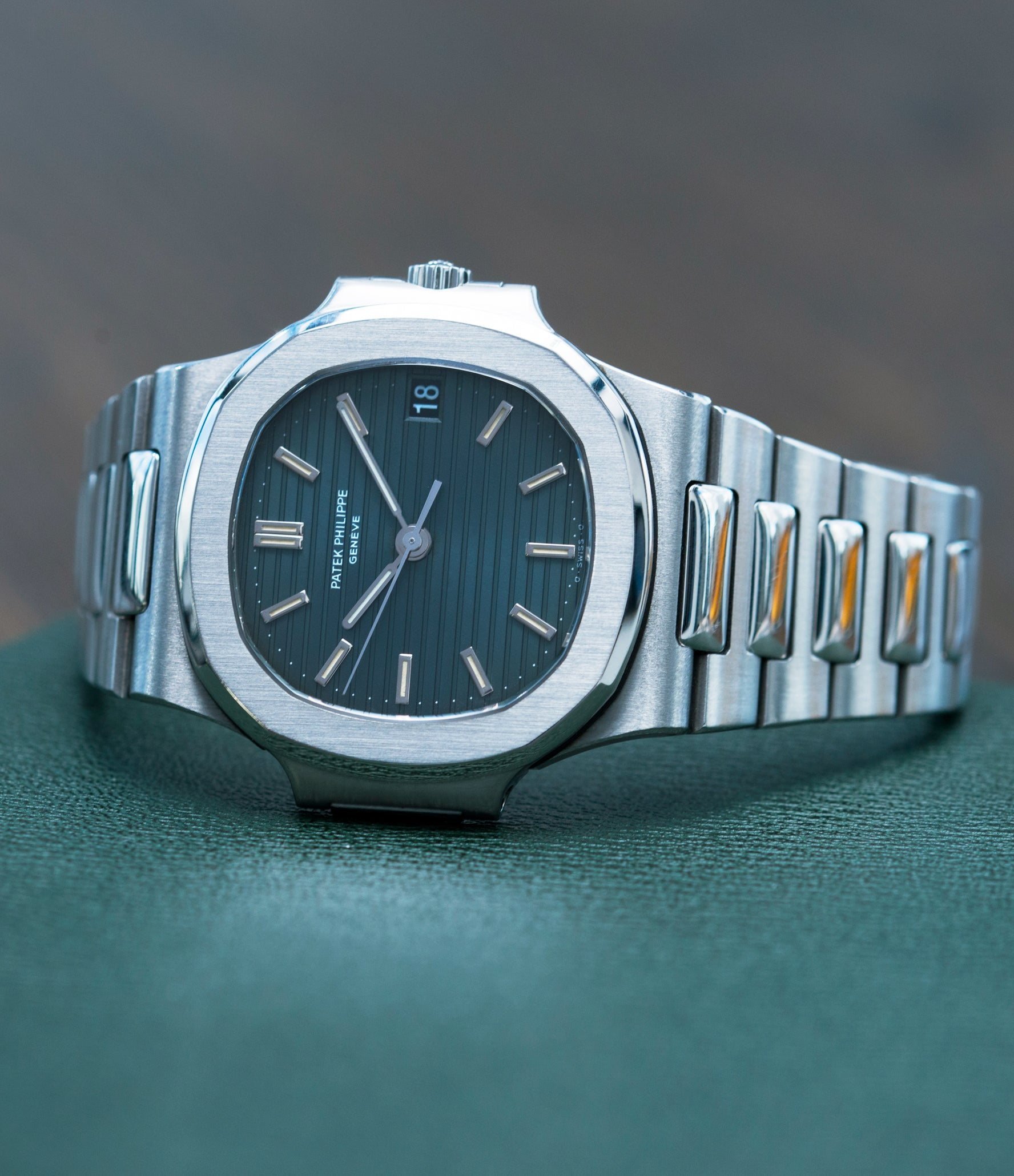 men's ultimate wristwatch Patek Philippe Nautilus 3800/1 steel vintage luxury watch online at A Collected Man London UK specialised  seller of rare watches