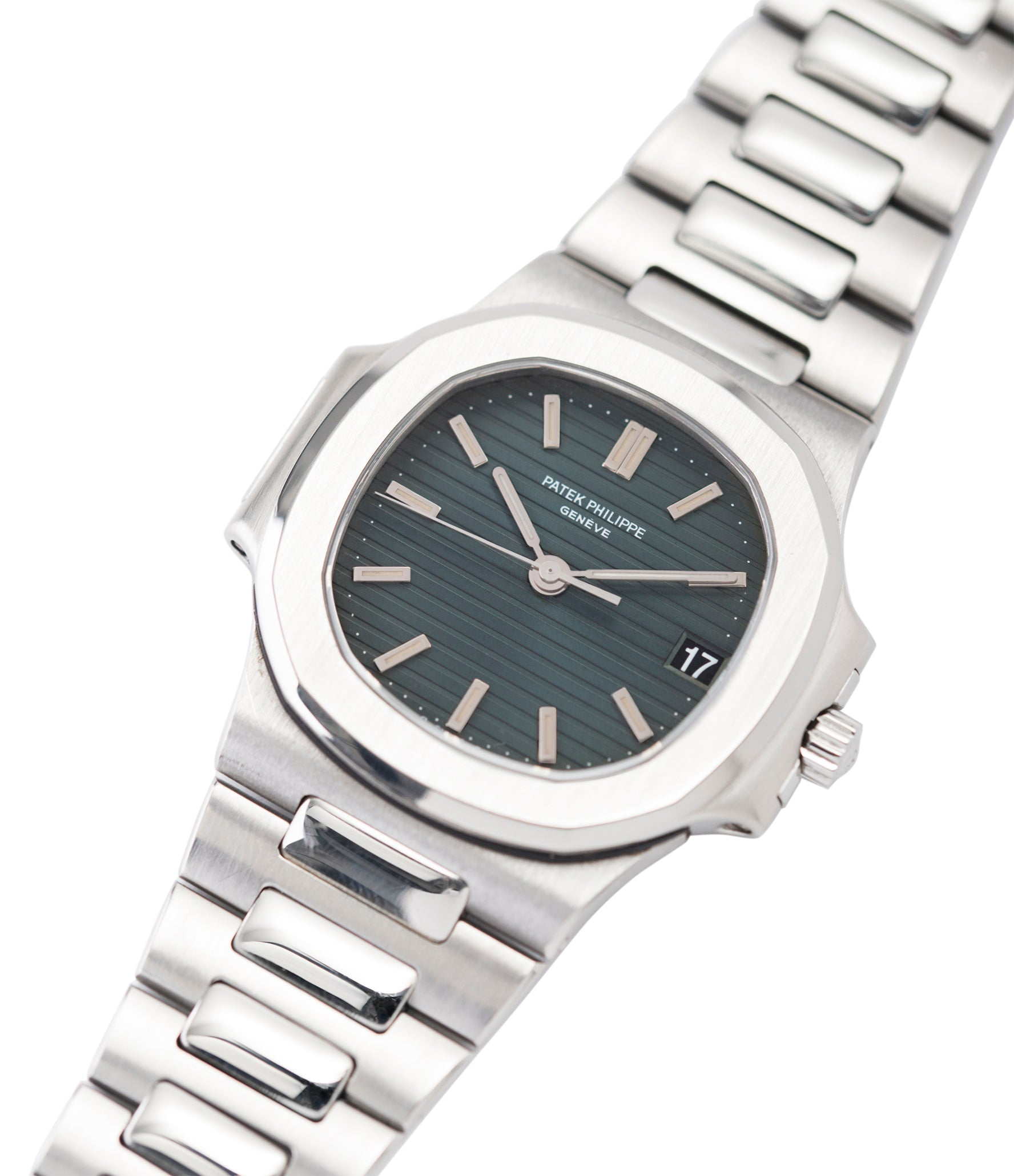 steel Patek Philippe Nautilus 3800/1 steel vintage luxury watch online at A Collected Man London UK specialised  seller of rare watches