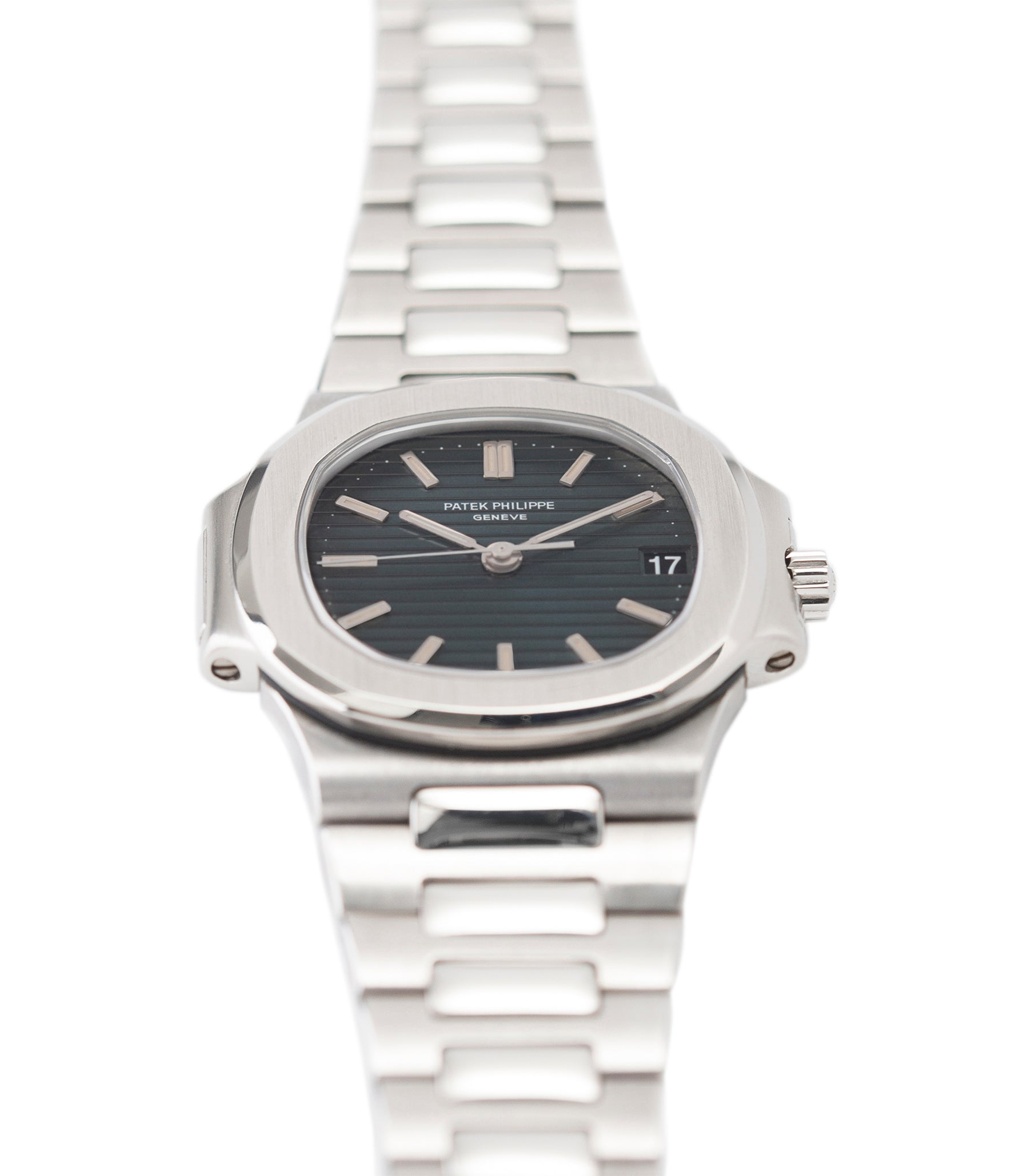 for sale Patek Philippe Nautilus 3800/1 steel vintage luxury watch online at A Collected Man London UK specialised  seller of rare watches