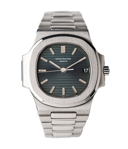 buy Patek Philippe Nautilus 3800/1 steel vintage luxury watch online at A Collected Man London UK specialised  seller of rare watches