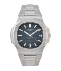 buy Patek Philippe Jumbo Nautilus 5711/1A-001 steel pre-owned sport watch for sale online at A Collected Man London UK specialist of rare watches