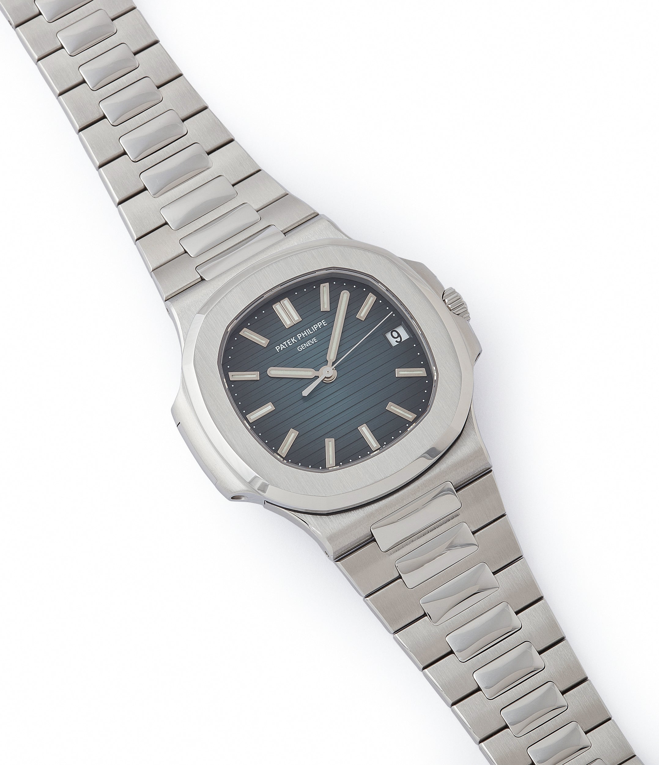 selling Patek Philippe Jumbo Nautilus 5711/1A-001 steel pre-owned sport watch for sale online at A Collected Man London UK specialist of rare watches