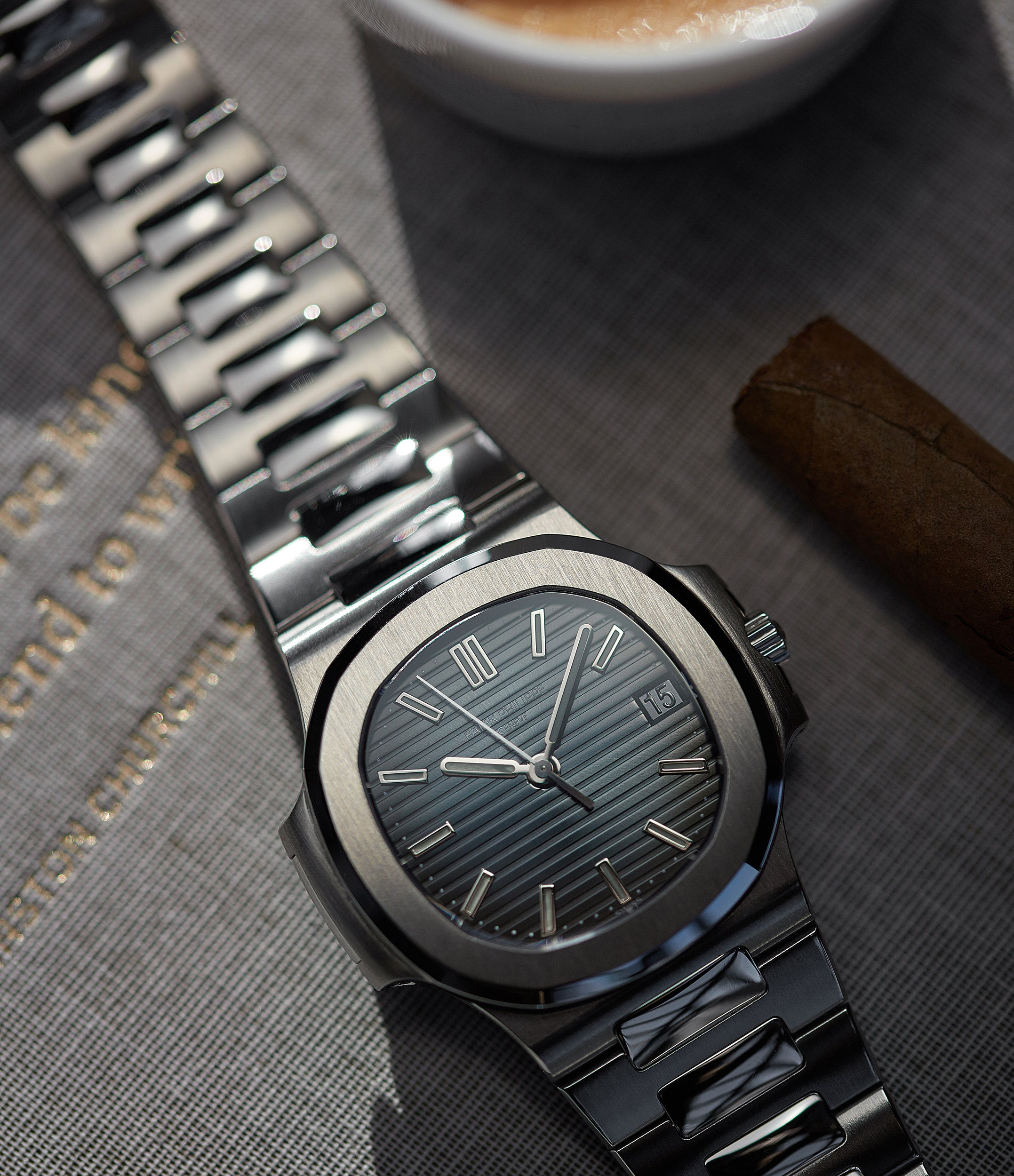 Examples of the reference 5800 were produced for a limited time (approximately 1 year), representing an exceptionally rare and highly-collectible modern Patek Philippe