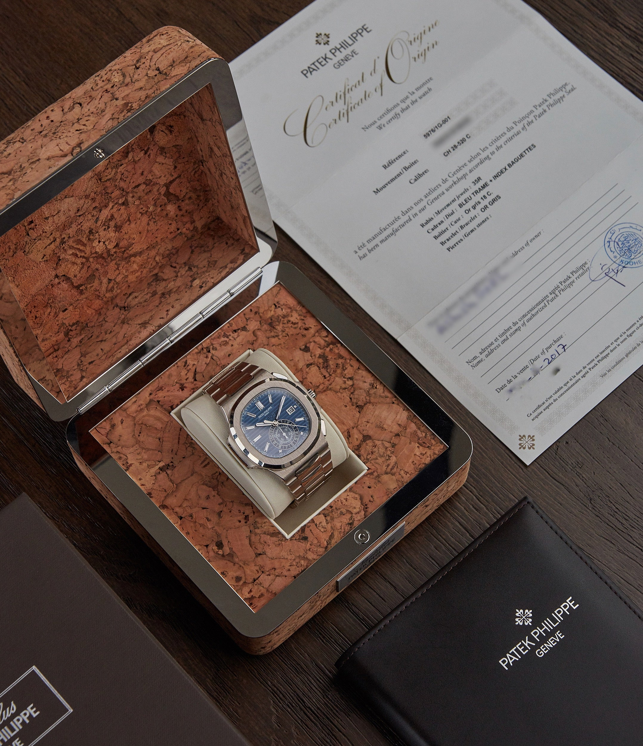 for sale Patek Philippe 40th Anniversary Nautilus 5976/1G-001 Limited Edition white gold sports pre-owned watch for sale online A Collected Man London