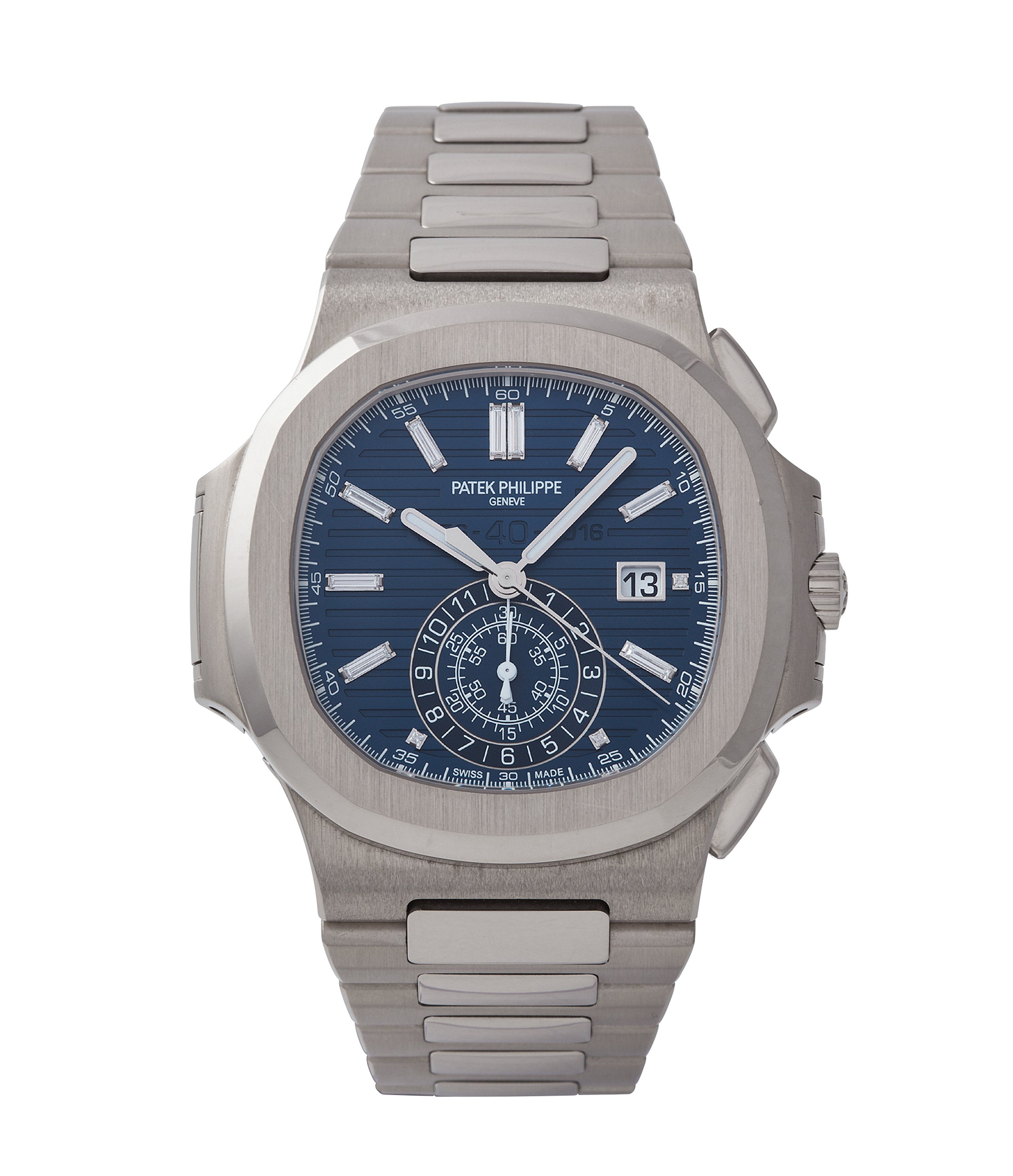 buy Patek Philippe 40th Anniversary Nautilus 5976/1G-001 Limited Edition white gold sports pre-owned watch for sale online A Collected Man London